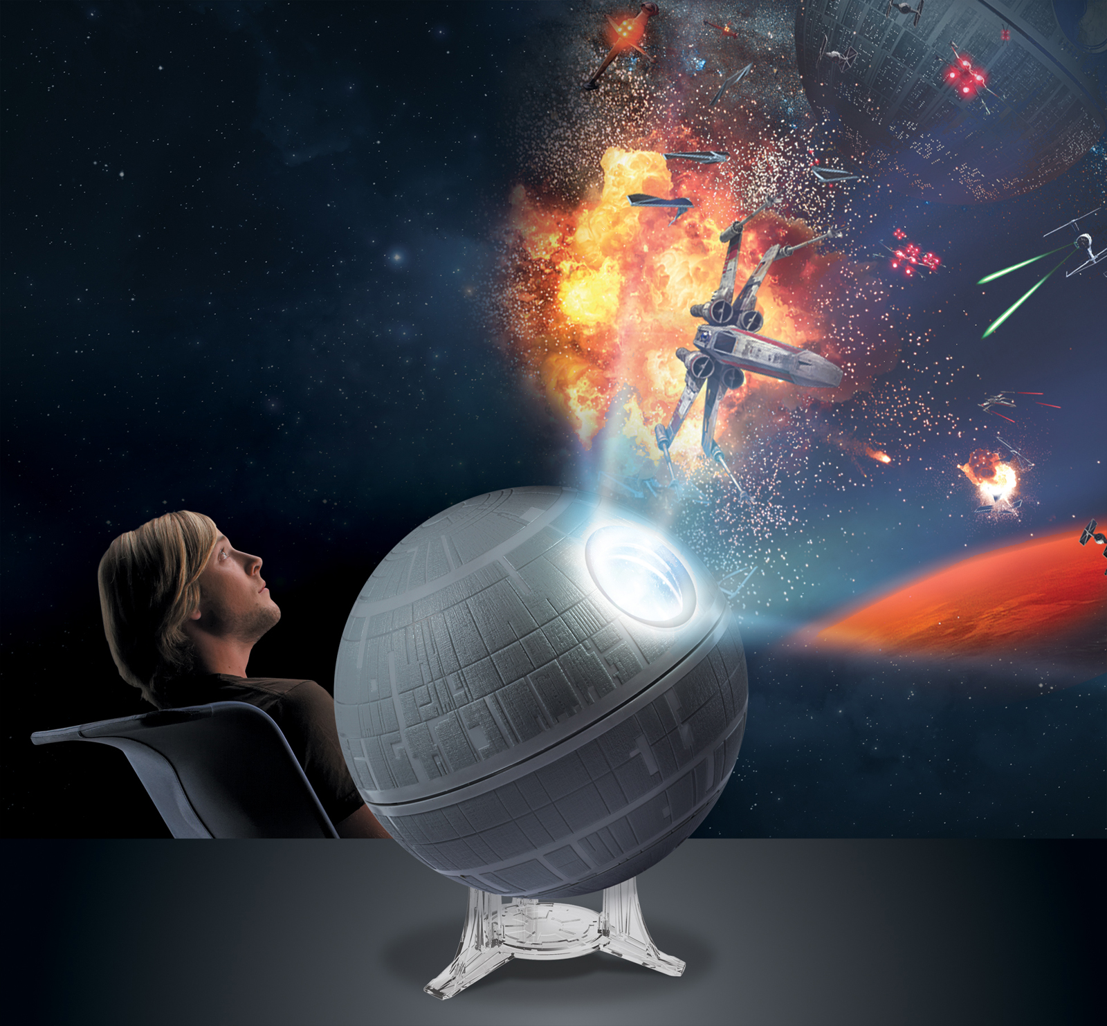 uncle milton star wars™ science death star™ galaxy high res