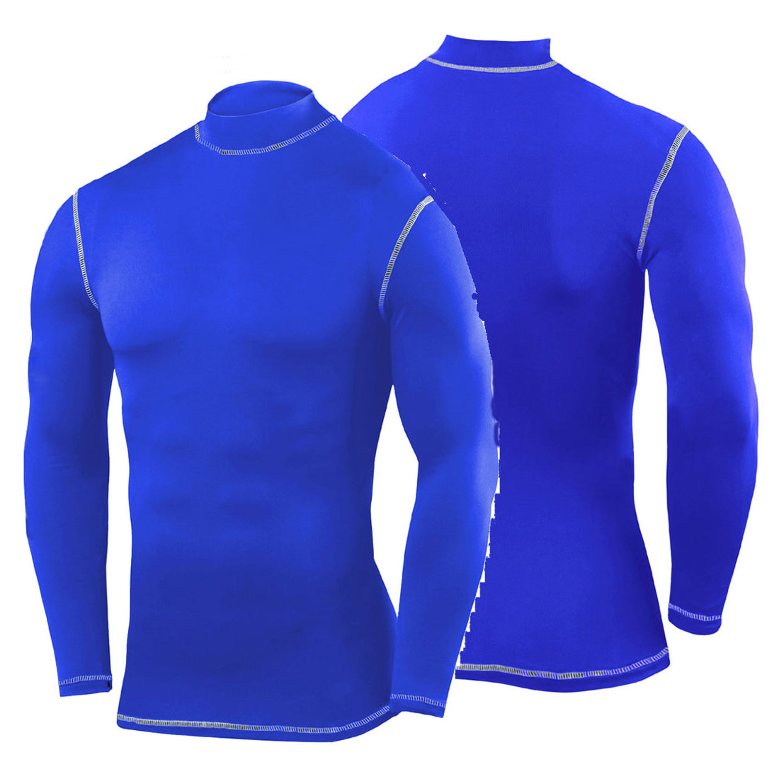 Mens sports exercise compression top skin cycling base for Compression tee shirts for men