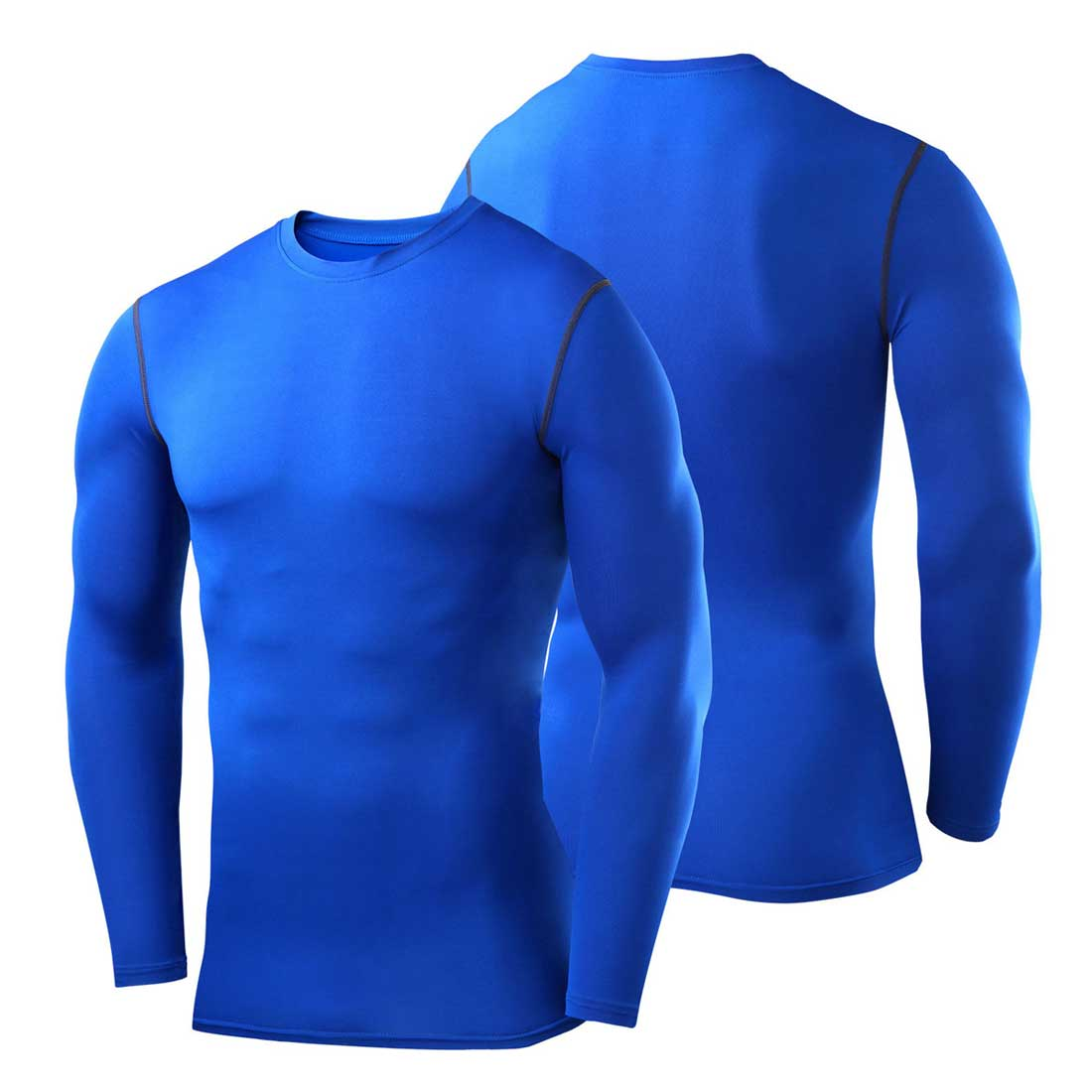 Mens Skins Compression Vest Top Long Sleeve Shirt Cycling