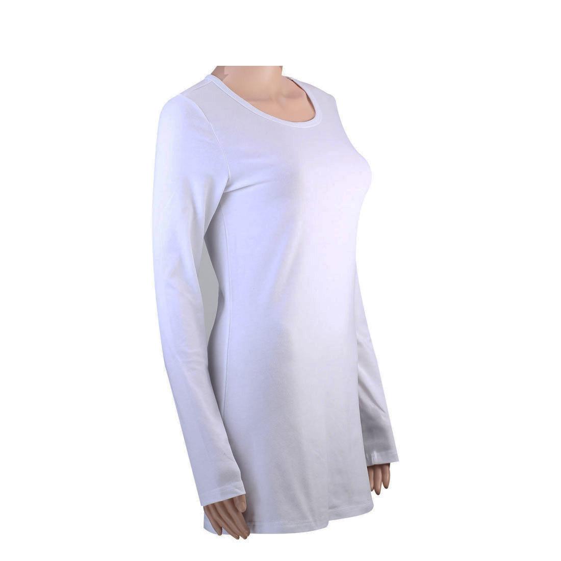100 Cotton Womens Long Sleeve T Shirt Ladies T Shirts