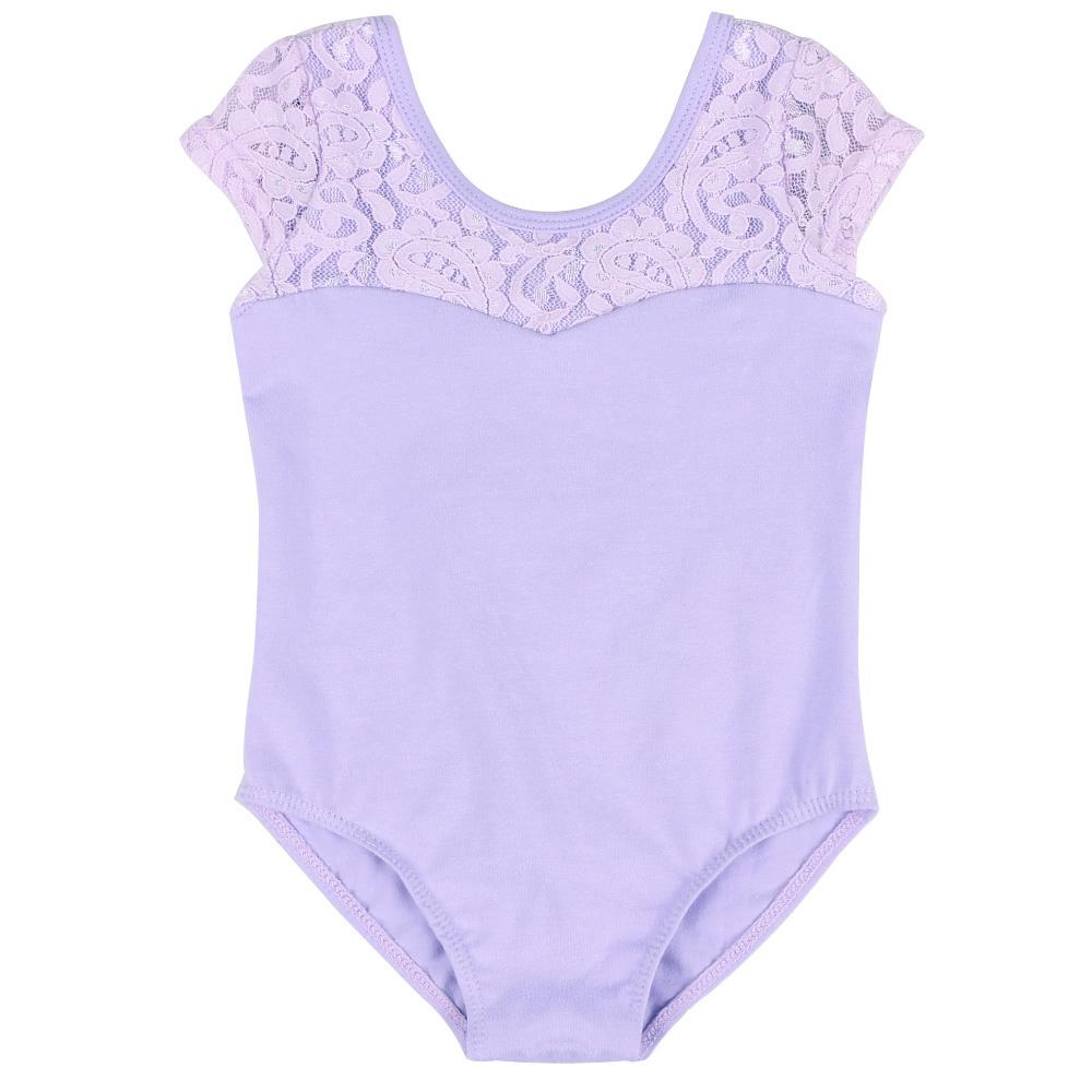 New-Girls-Lace-Uniform-Cotton-Dance-Gymnastics-Ballet-Sleeveless-Leotards-7-8Y