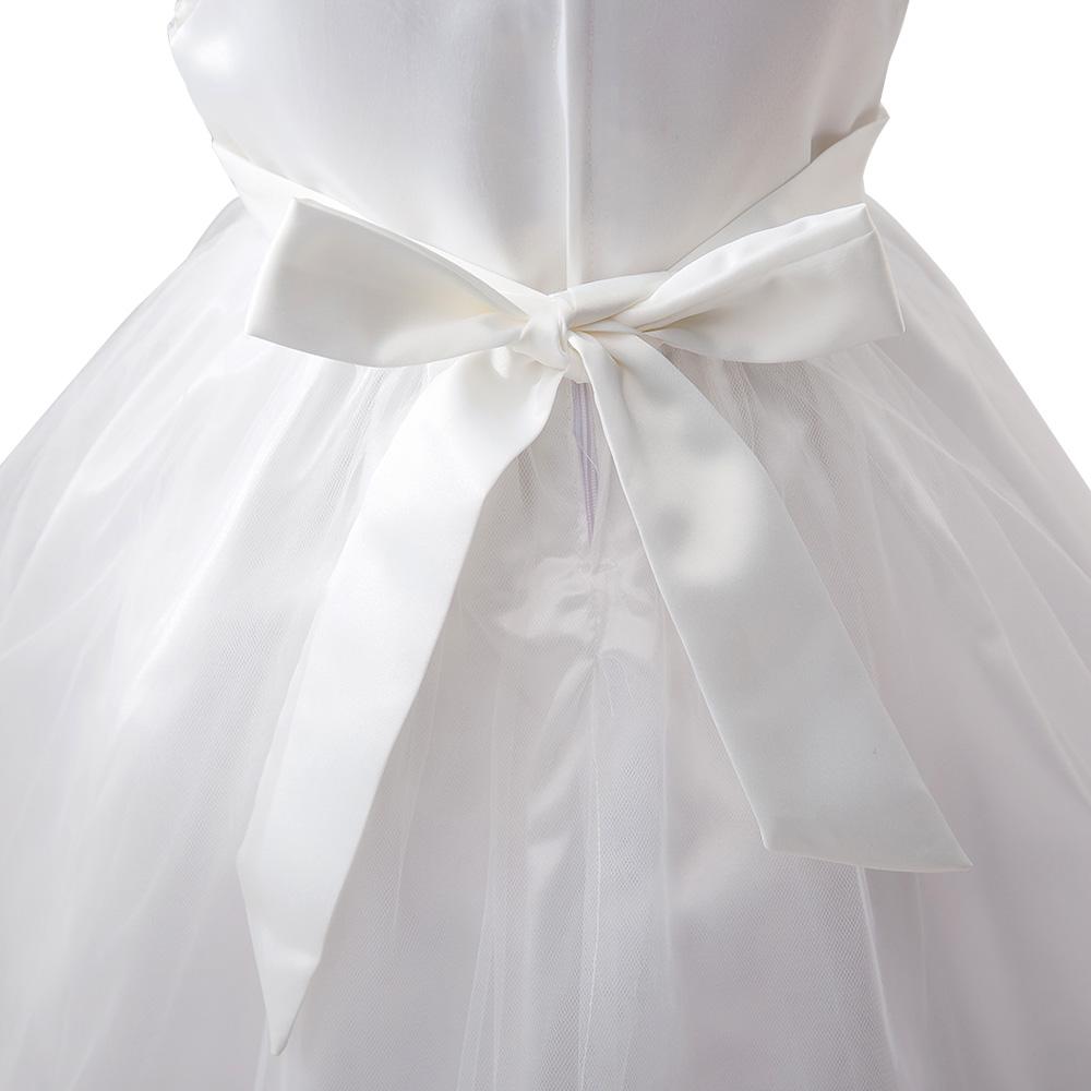 Little Girls Sequin Princess Bridesmaid Wedding Dress Christmas ...