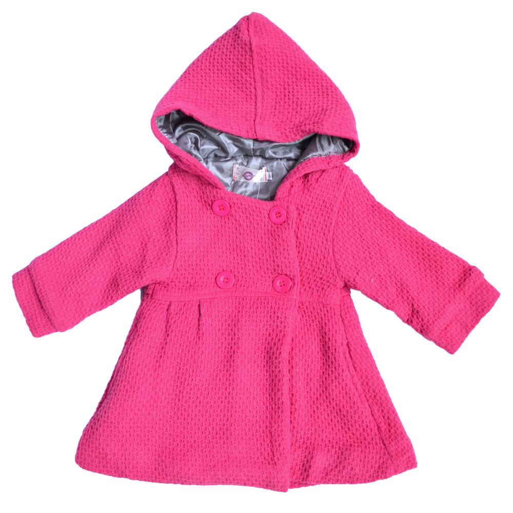 cute baby girls trench coat hoodies infant winter warm. Black Bedroom Furniture Sets. Home Design Ideas