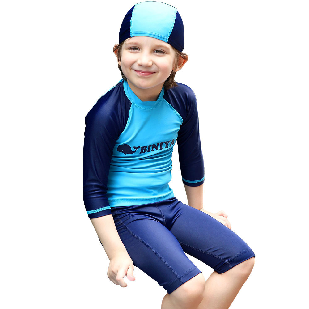 We carry a wide selection of boys sun protection swimwear with a UV 50+ protective rating. Shop for boys sun protection clothing and more UV Skinz products today!