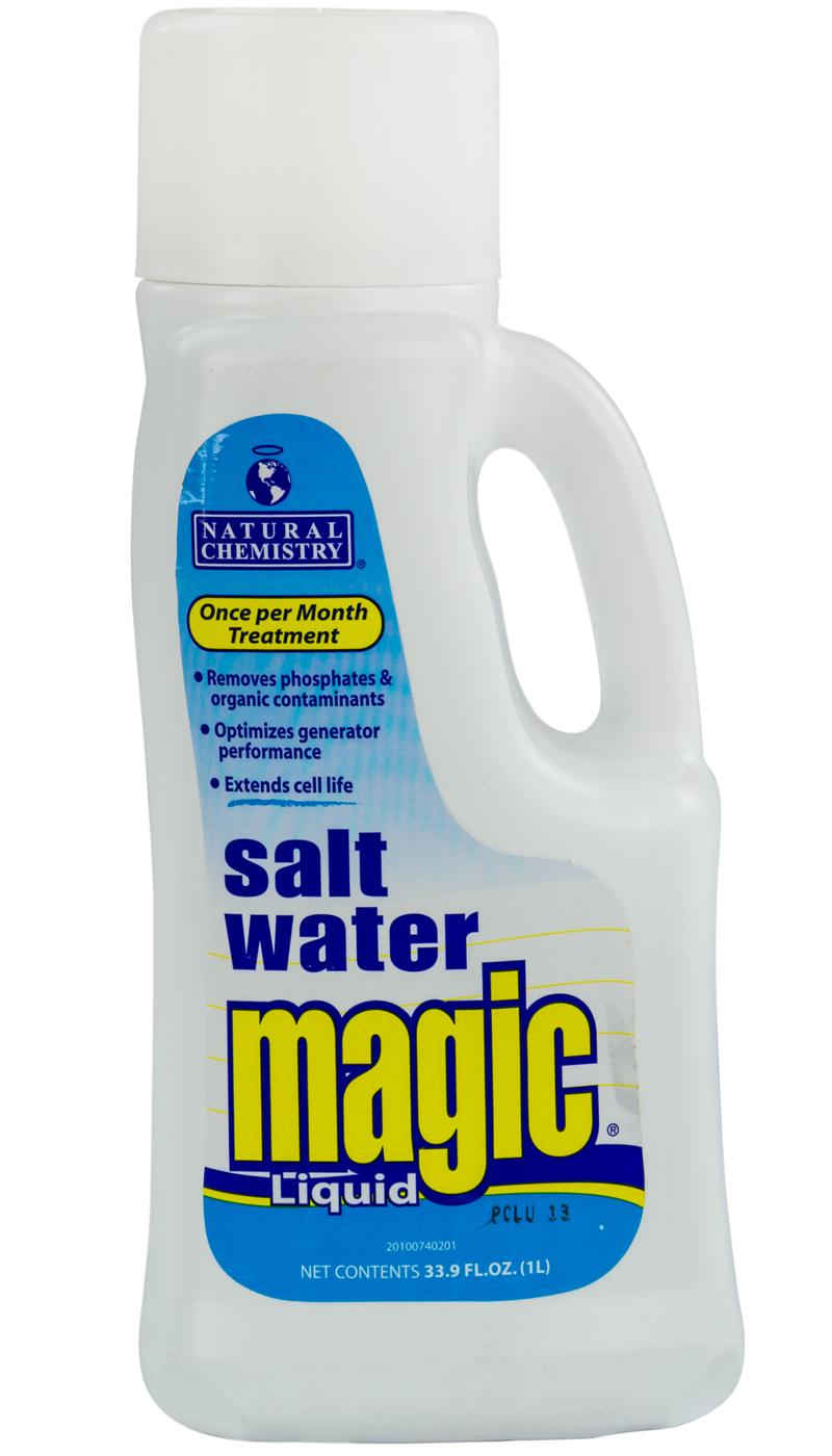 Natural chemistry 07402 swimming pool salt water magic - Saltwater swimming pool chemistry ...