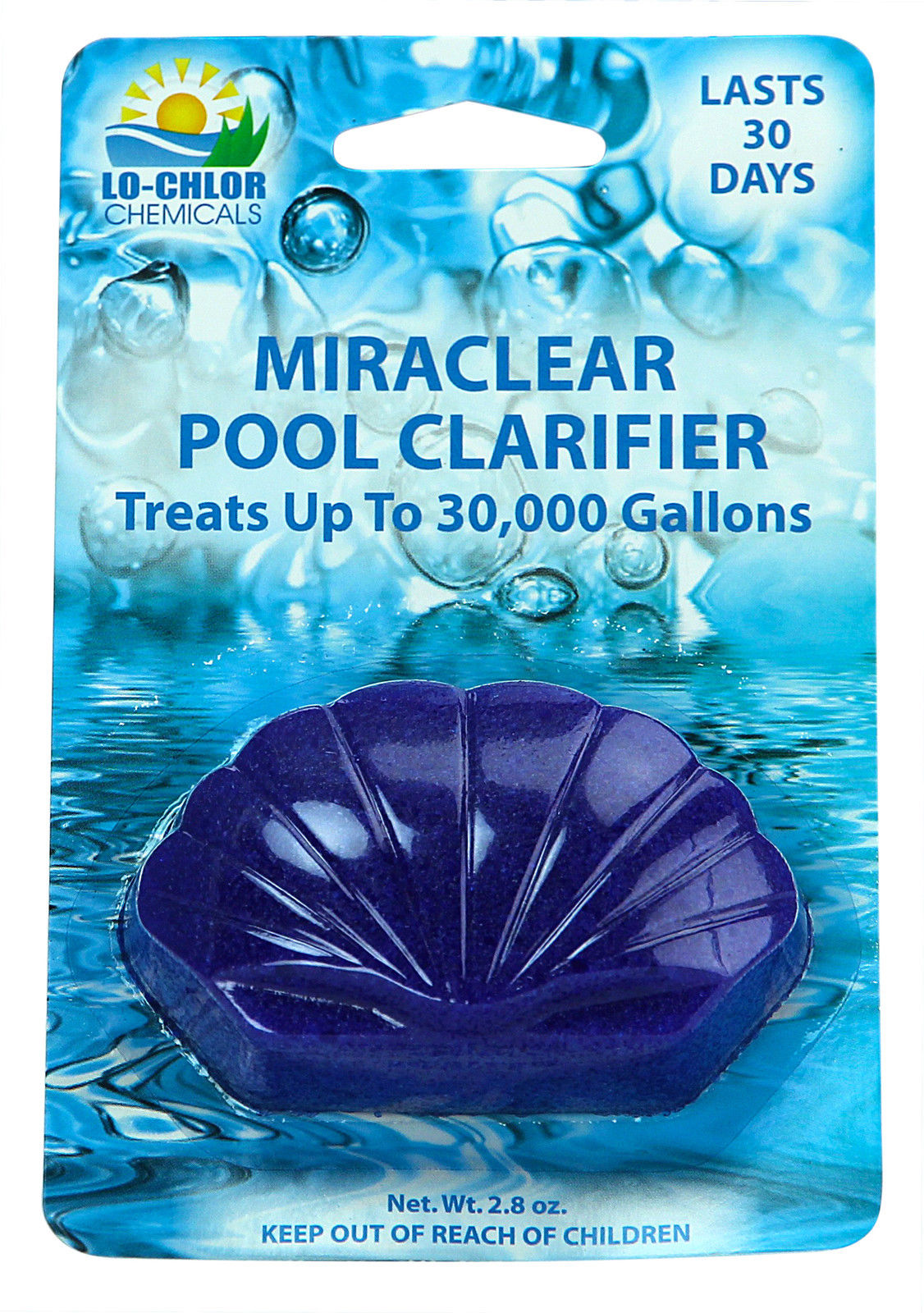 2 Pack Lo Chlor Miraclear Clarifier For Swimming Pools Up To 30 000 Gallons