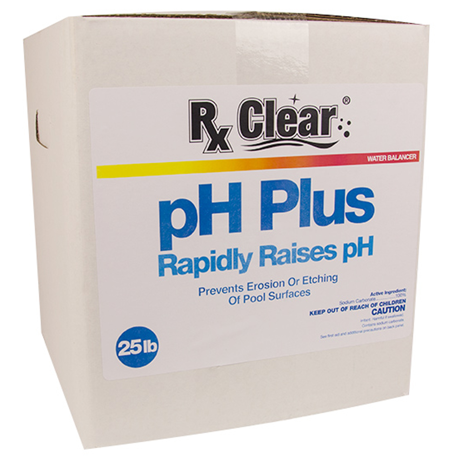 Rx Clear Ph Plus Increaser Granular Soda Ash Chemical For Swimming Pool 25 Lbs Ebay