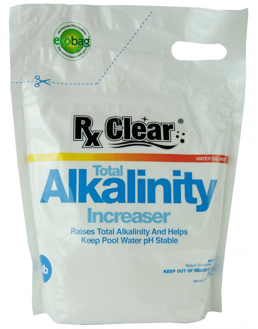 Rx Clear Swimming Pool Alkalinity Up Increaser Plus Sodium Bicarbonate 5 Lbs Ebay