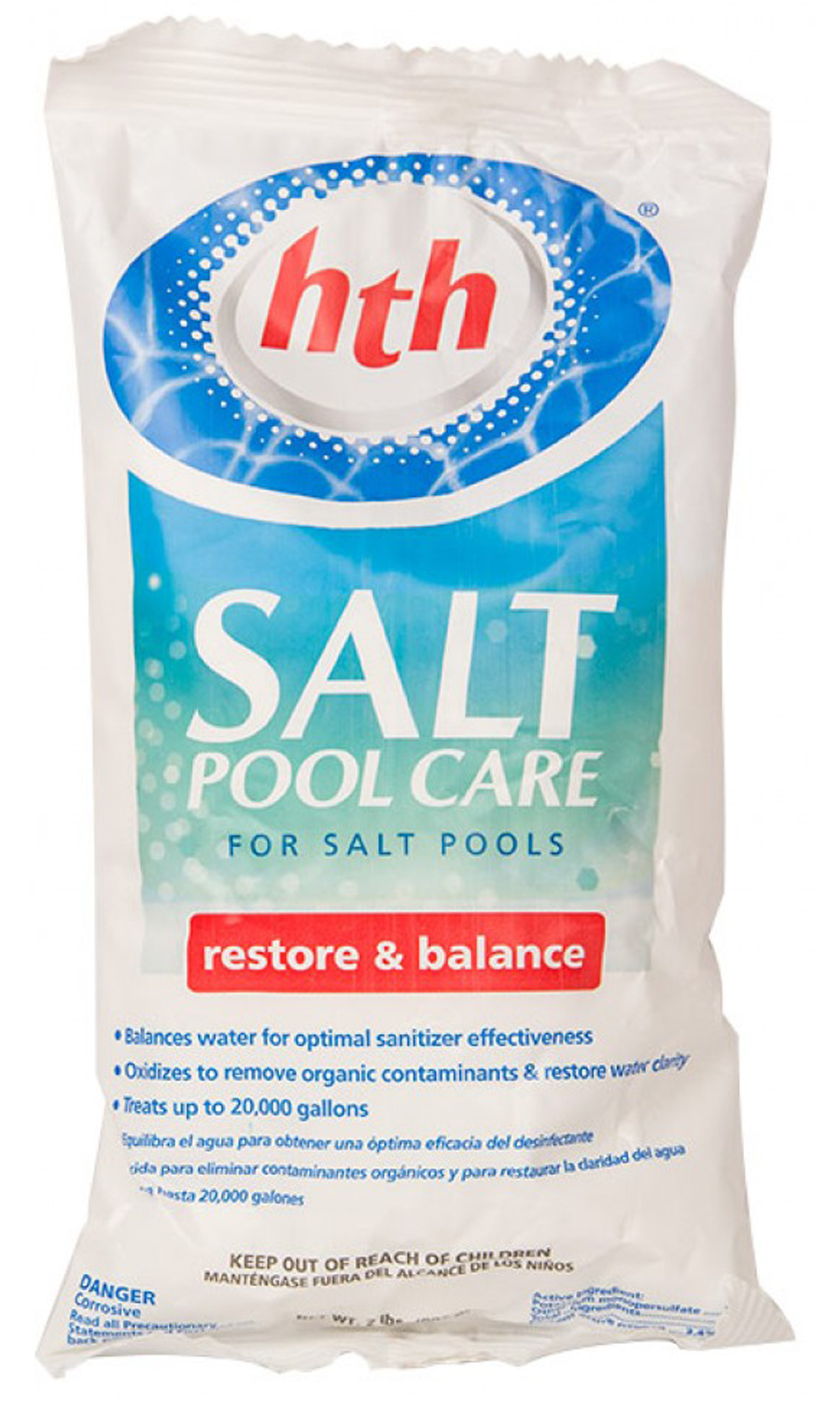 Hth Swimming Pool Salt Generator Pool Care Chemical That Restore Balance 2lbs Ebay