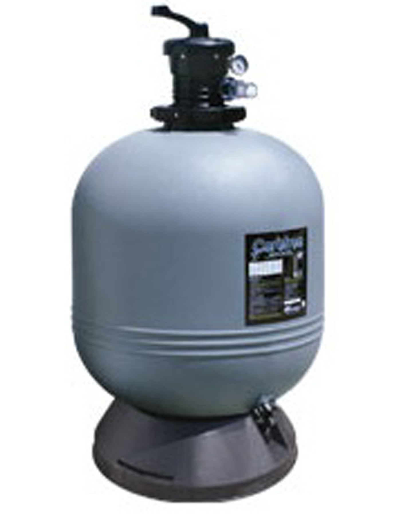 Waterway Clear Free 19 Inch Above Ground Swimming Pool Sand Filter W Valve