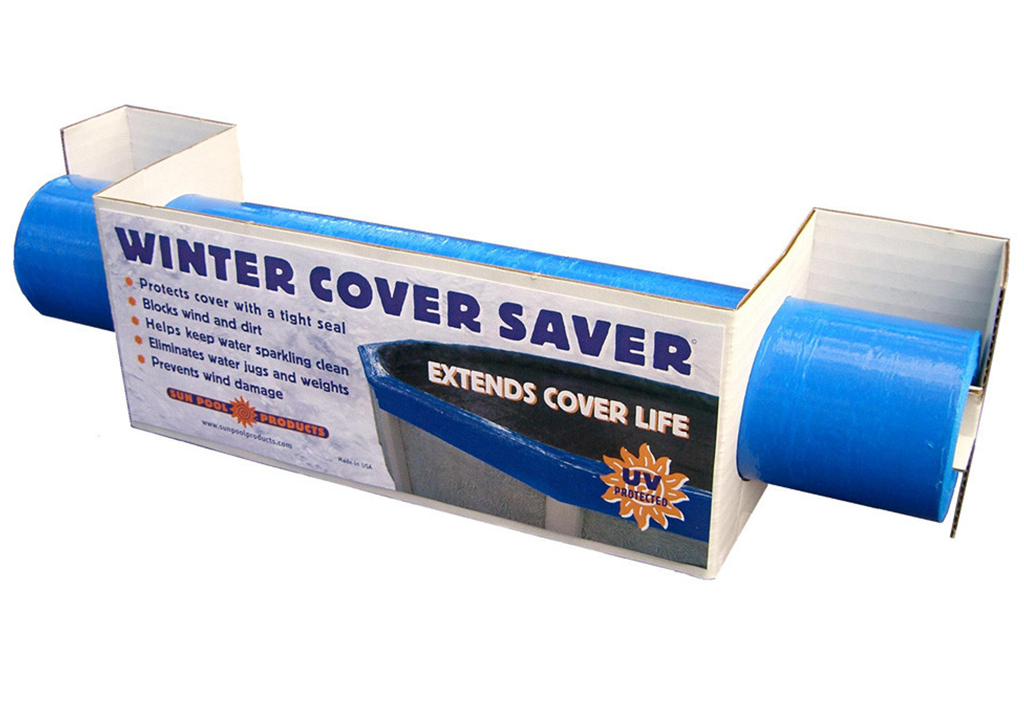 Above Ground Swimming Pool Winter Cover Seal 500 Ft Roll