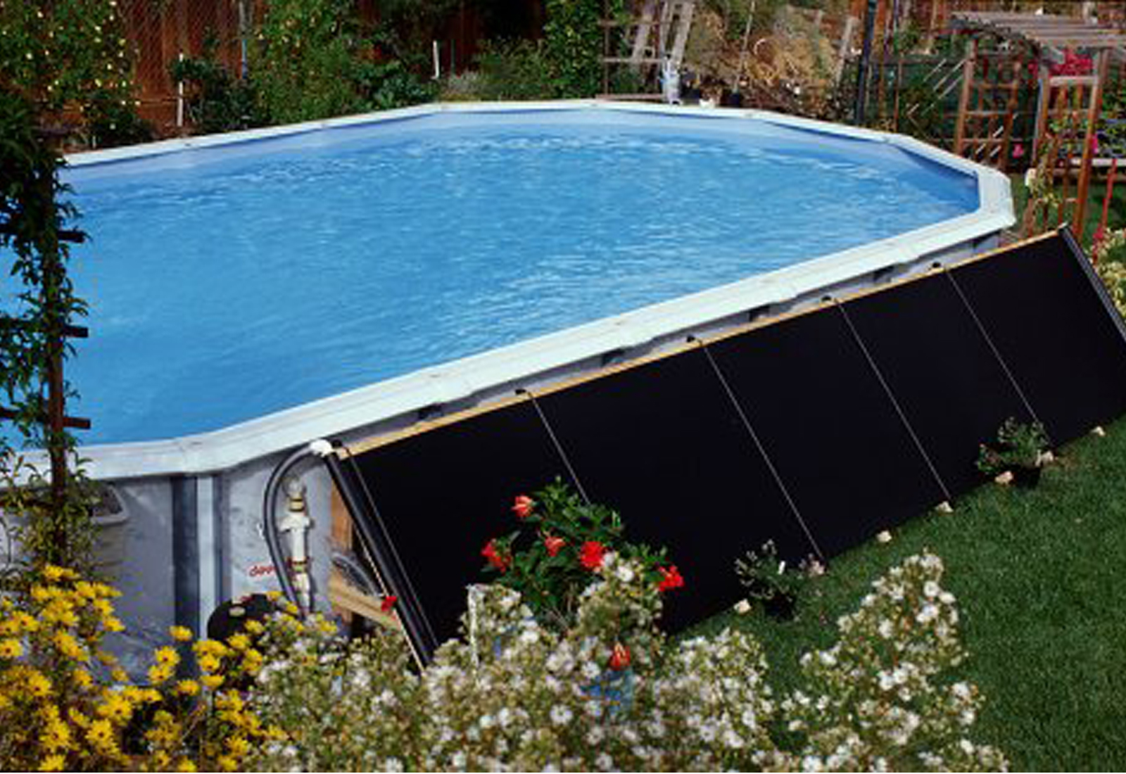 Fafco 2 2 39 X20 39 Add On Above Ground Swimming Pool Solar Heater Panel Ebay