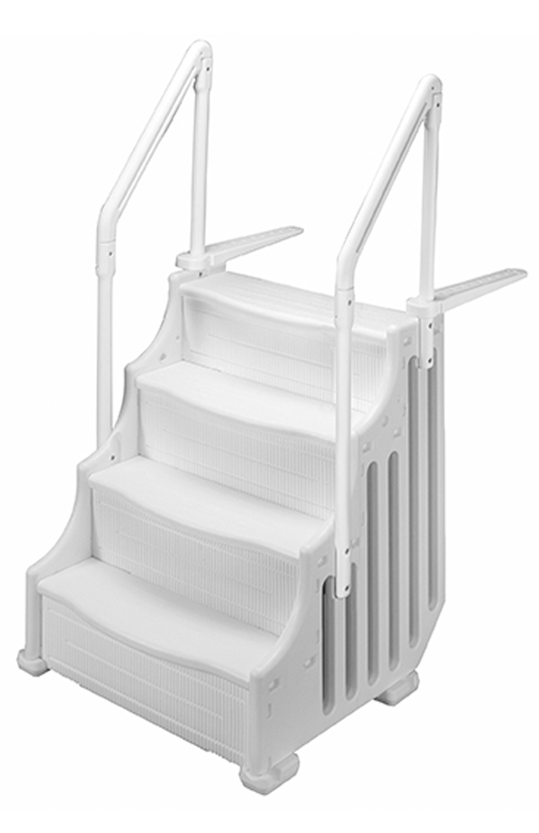 New Ocean Blue Mighty Step 38 Wide Above Ground Swimming Pool Steps Ladder Ebay