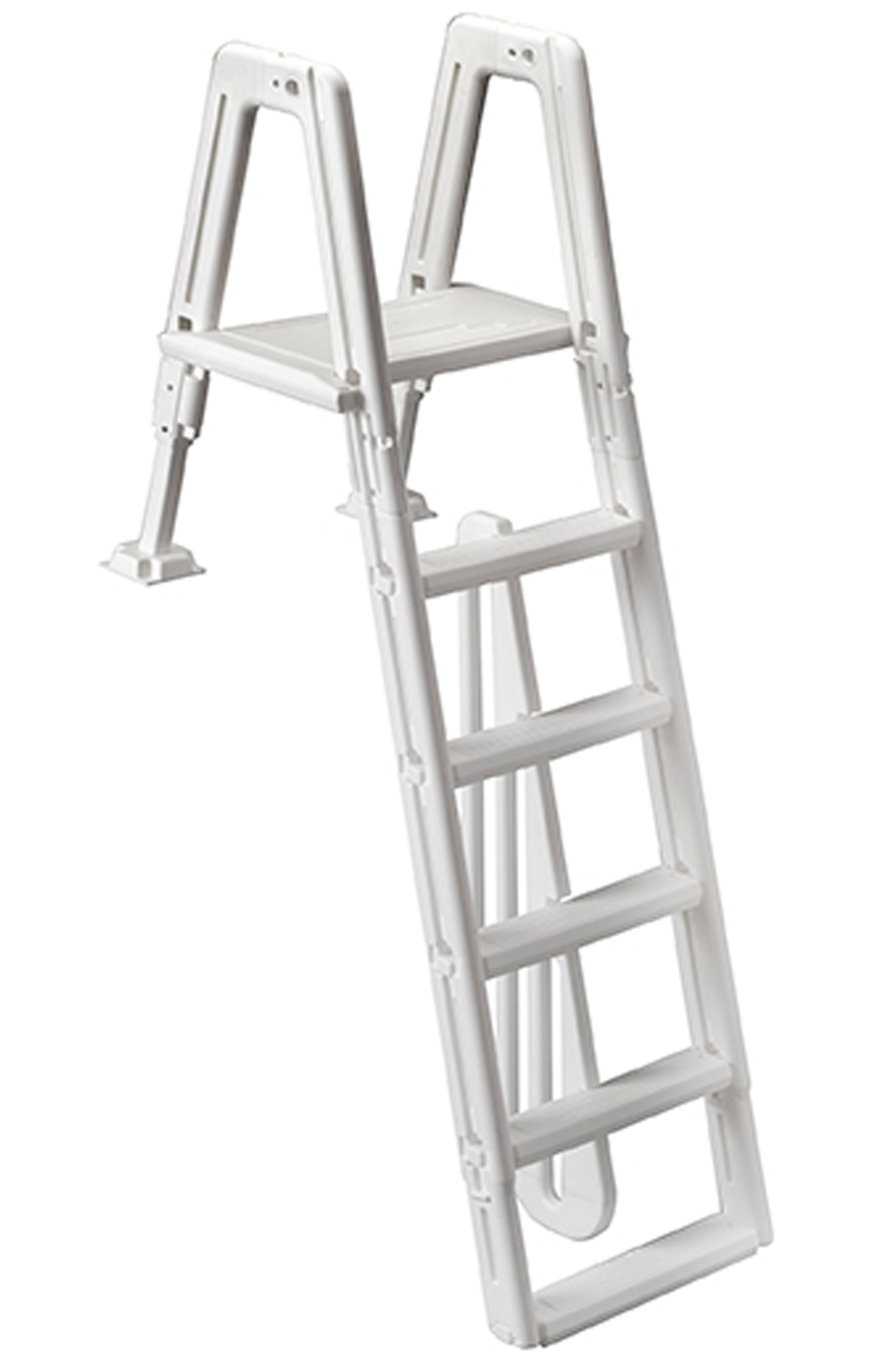 Ocean Blue 400900 Above Ground Swimming Pool Safety Ladder For Mighty Step Ebay