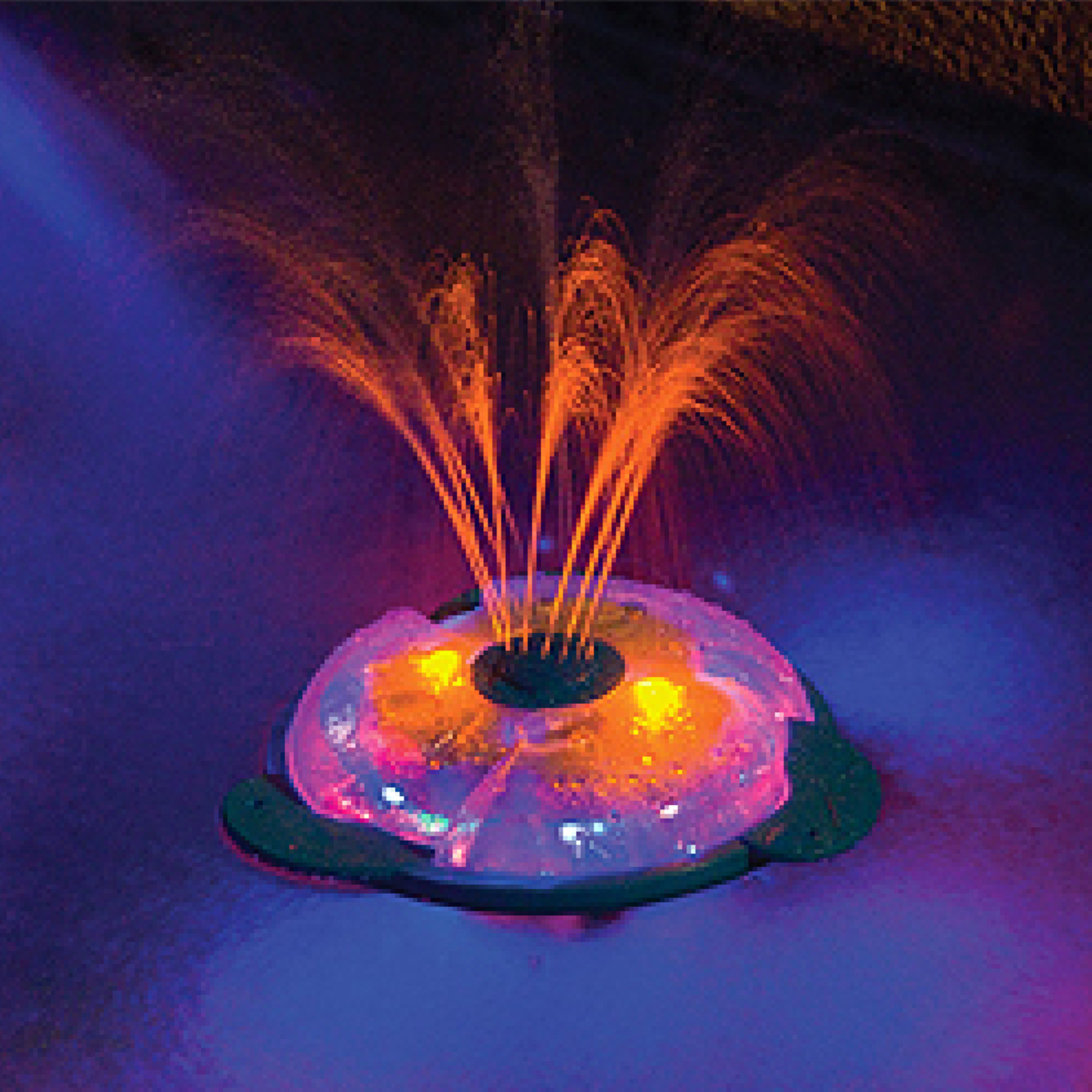 Underwater light show fountain for in ground above for Pool light show waikiki