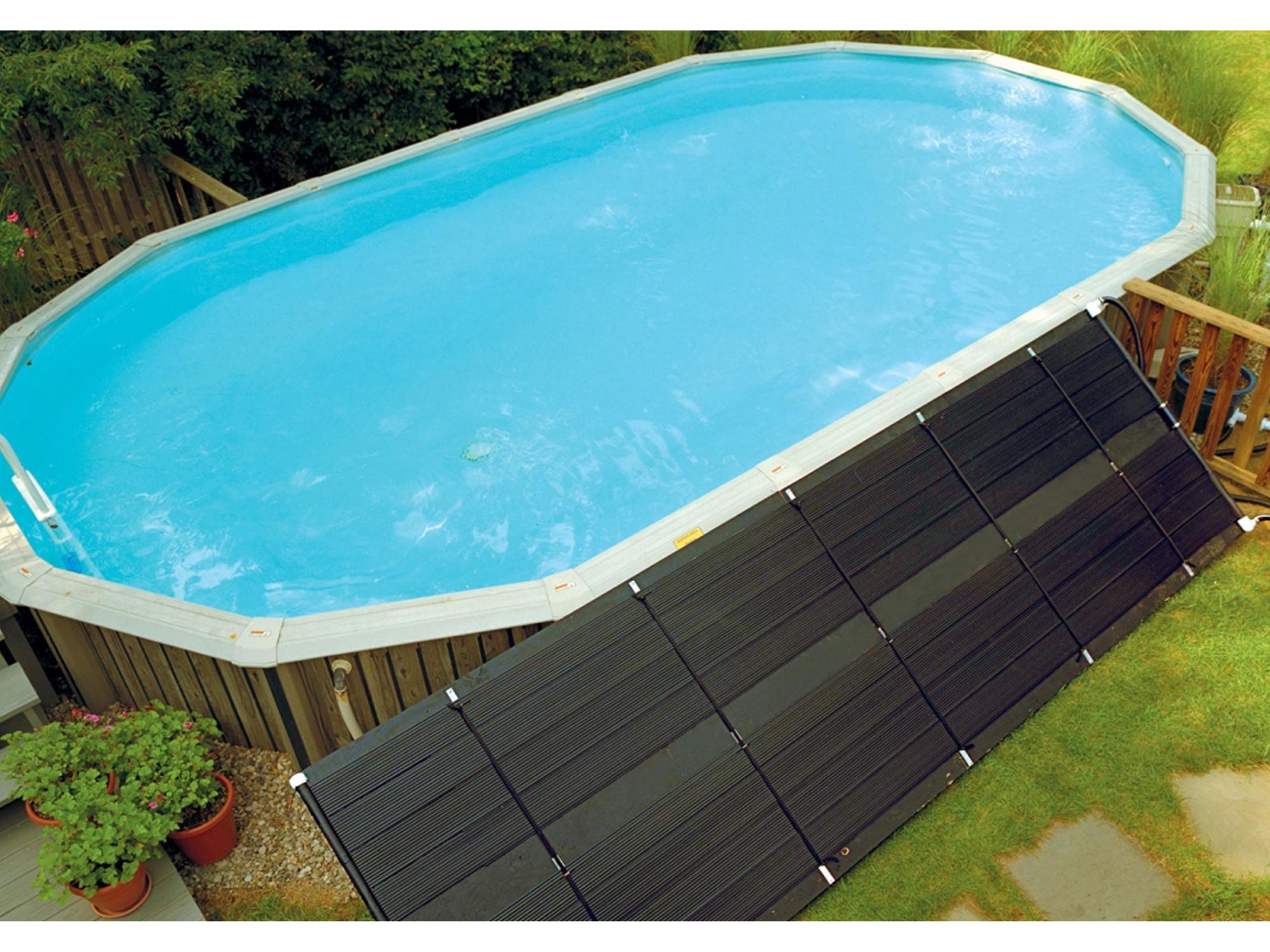 Как обогреть открытый бассейн своими руками