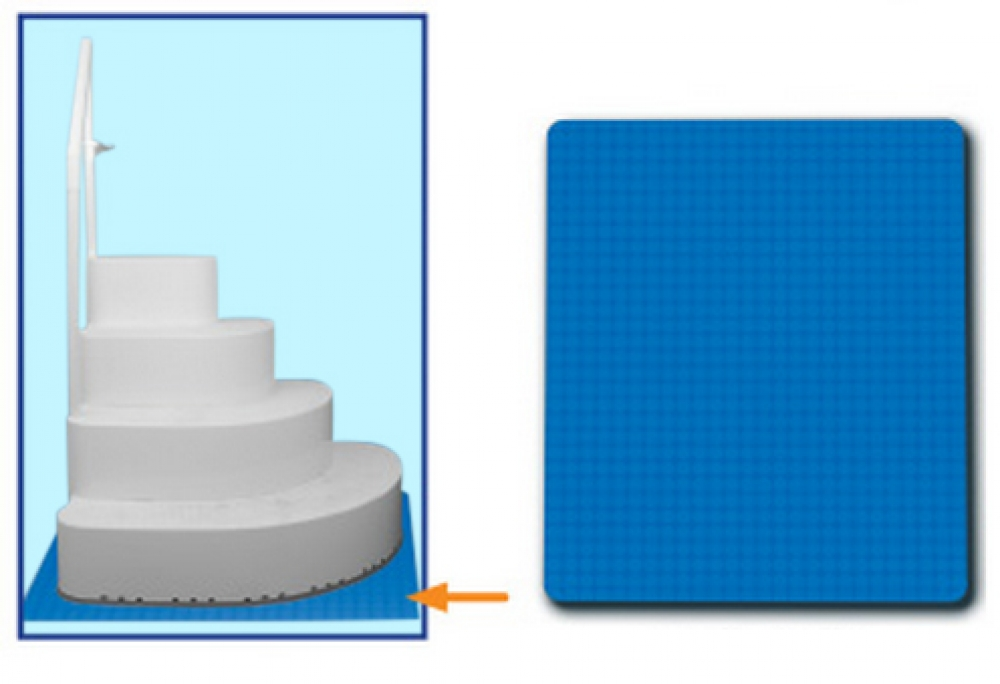3 39 X4 39 Swimming Pool Step Ladder Mat Or Step Pad Liner Protection Ebay