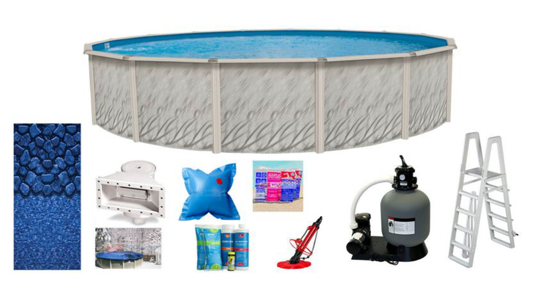 27 39 X52 Round Meadows Above Ground Swimming Pool Liner