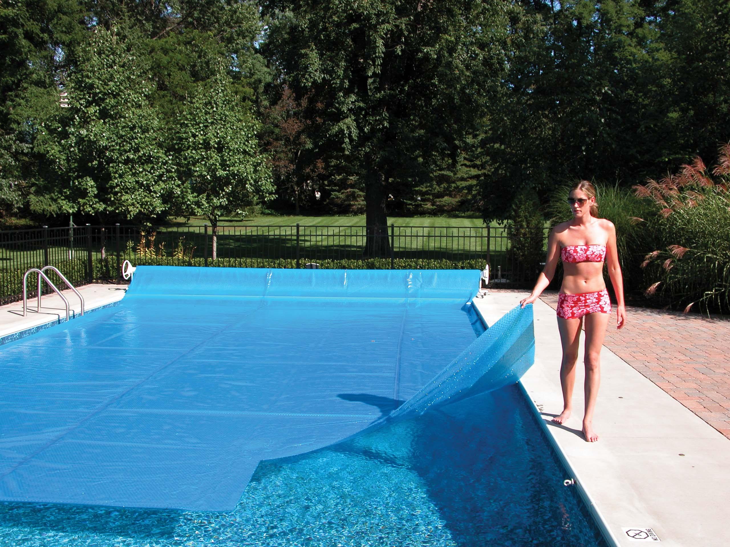 20 39 X40 39 Ft Rectangle Blue Swimming Pool Solar Cover Heating Tarp Blanket 12 Mil Ebay