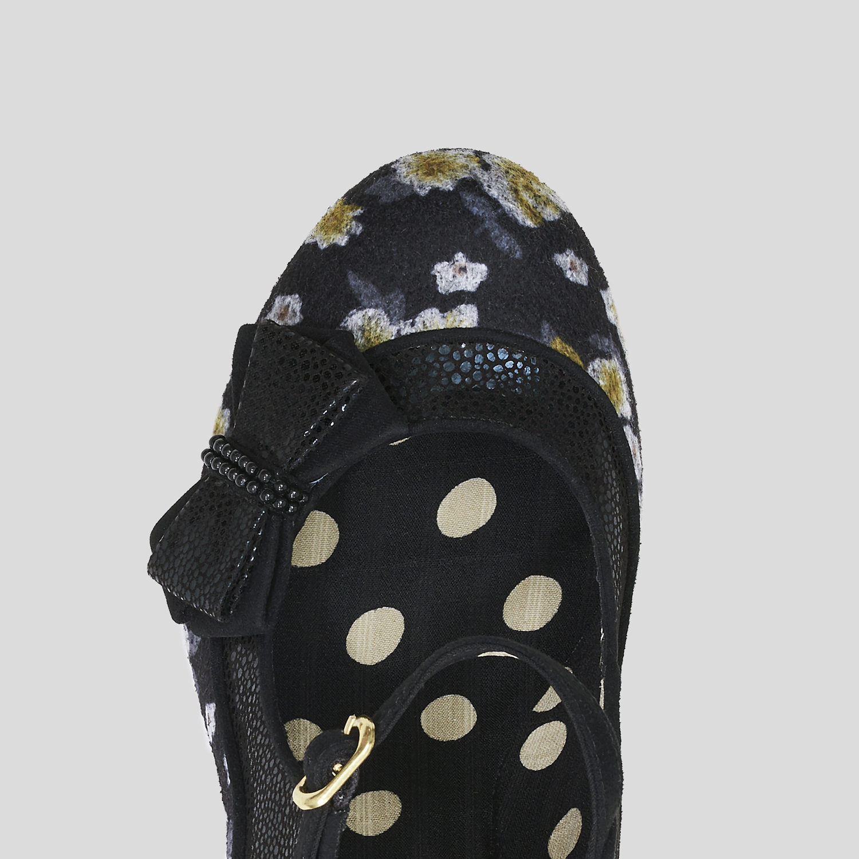 Ruby Shoo Camilla High Heel Mary Jane Shoes UK 2-9 EU 35-42 Navy Burgundy Black
