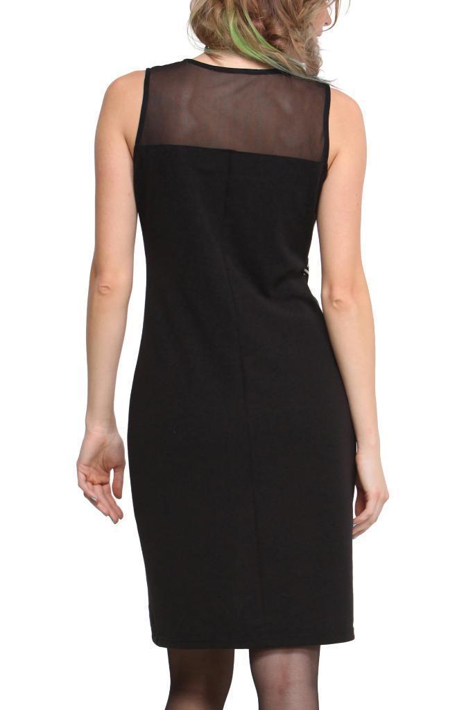 Desigual cheever dress s xxl 10 18 rrp 99 shift dress for Xxl 18 xxl 2012 black