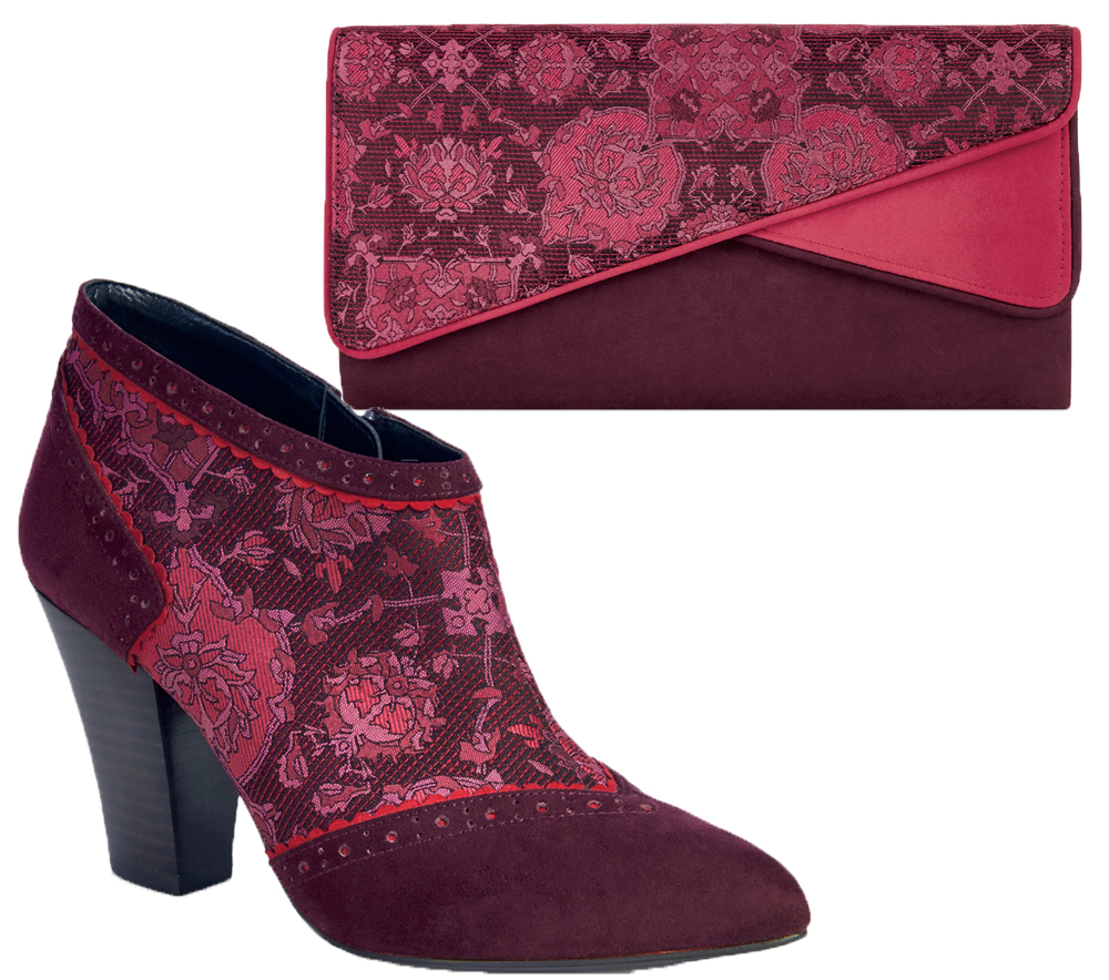 Ruby Shoo Nicola Ankle Boots & Matching Sydney Bag sz 3 ...