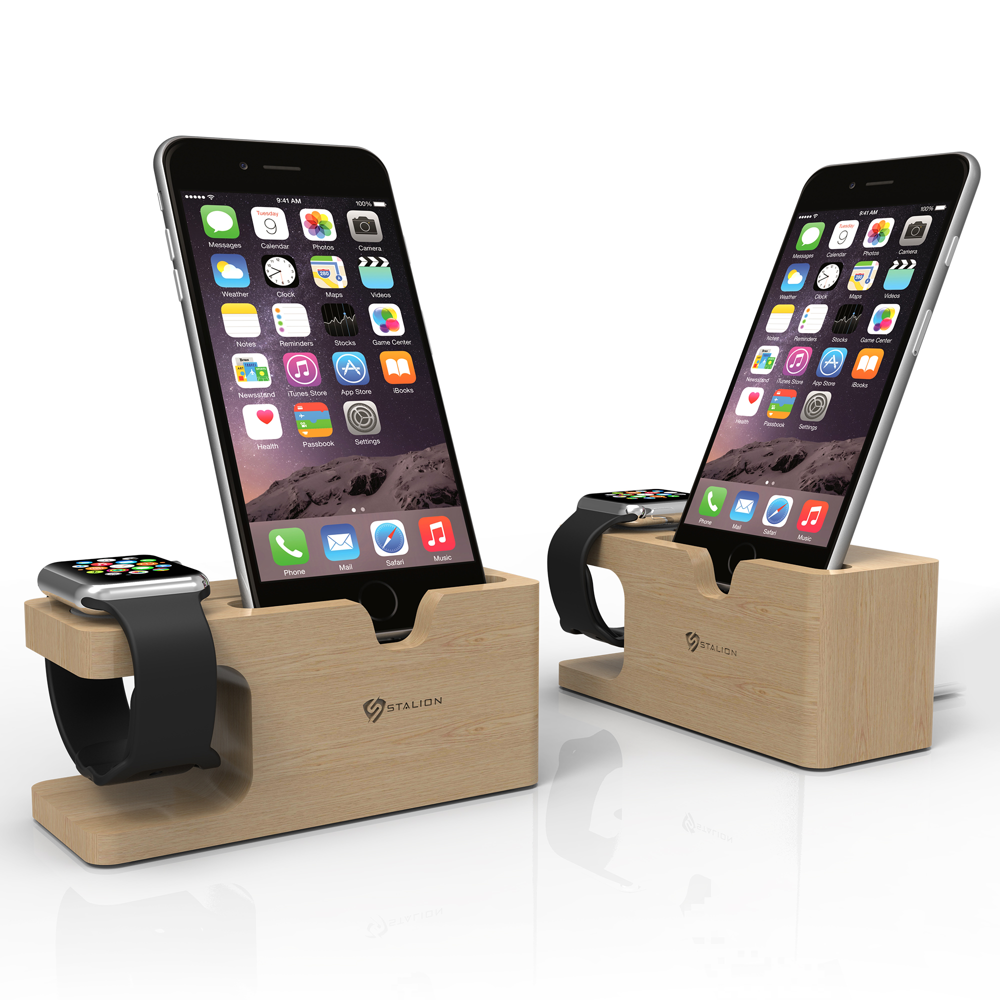 stalion stand desktop charging dock station for iphone 6. Black Bedroom Furniture Sets. Home Design Ideas