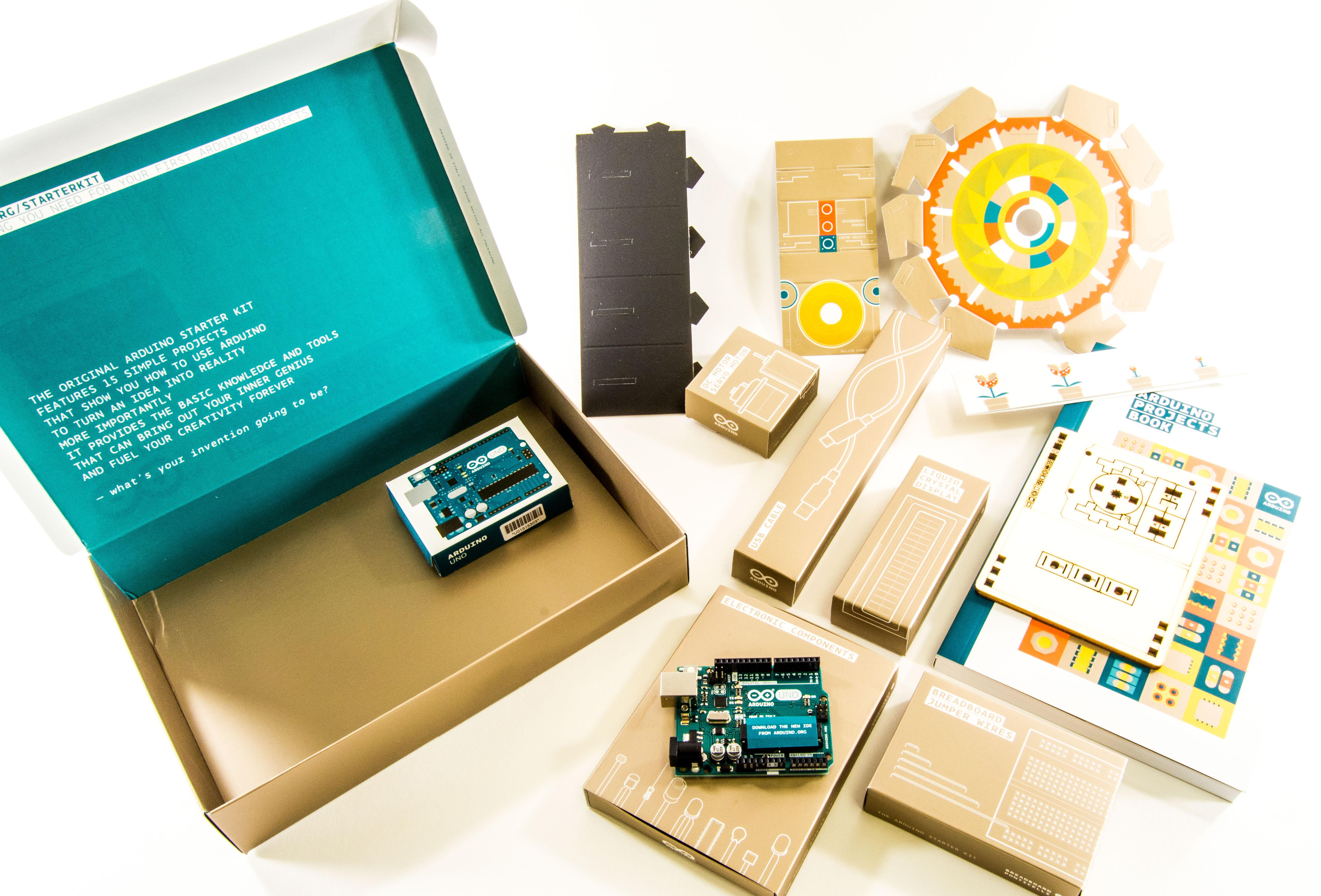 Arduino starter kit book download