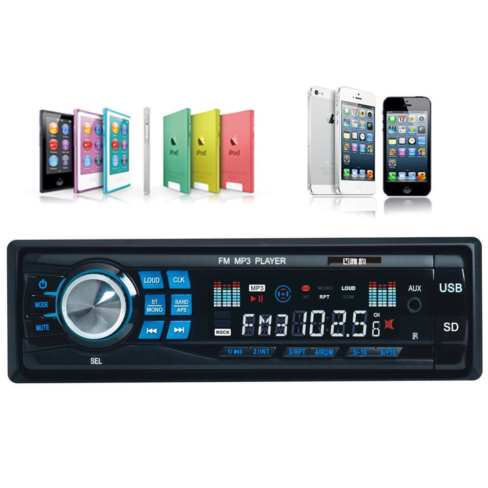 car audio stereo in dash fm receiver with mp3 player usb. Black Bedroom Furniture Sets. Home Design Ideas
