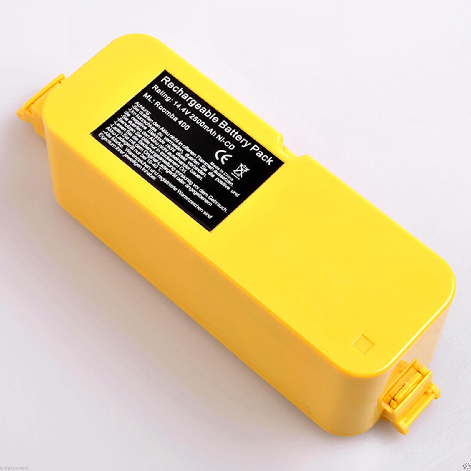 2500mah battery for irobot roomba 400 405 410 415 416 4210 4170 vacuum cleaner ebay. Black Bedroom Furniture Sets. Home Design Ideas