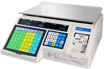 CAS CORP, SCALE, LABEL PRINTING SCALE, 30LB, 4000 PLU