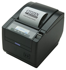 CITIZEN, CT-S801, THERMAL POS PRINTER, THERMAL, 300MM, USB I/F, BLACK, PNE SENSOR