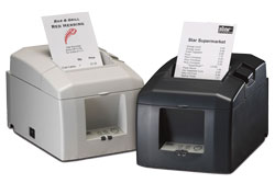 39449470, STAR MICRONICS, TSP654IIC-24 GRY US, THERMAL PRINTER, CUTTER, PARALLEL, GRAY, POWER SUPPLY INCLUDED