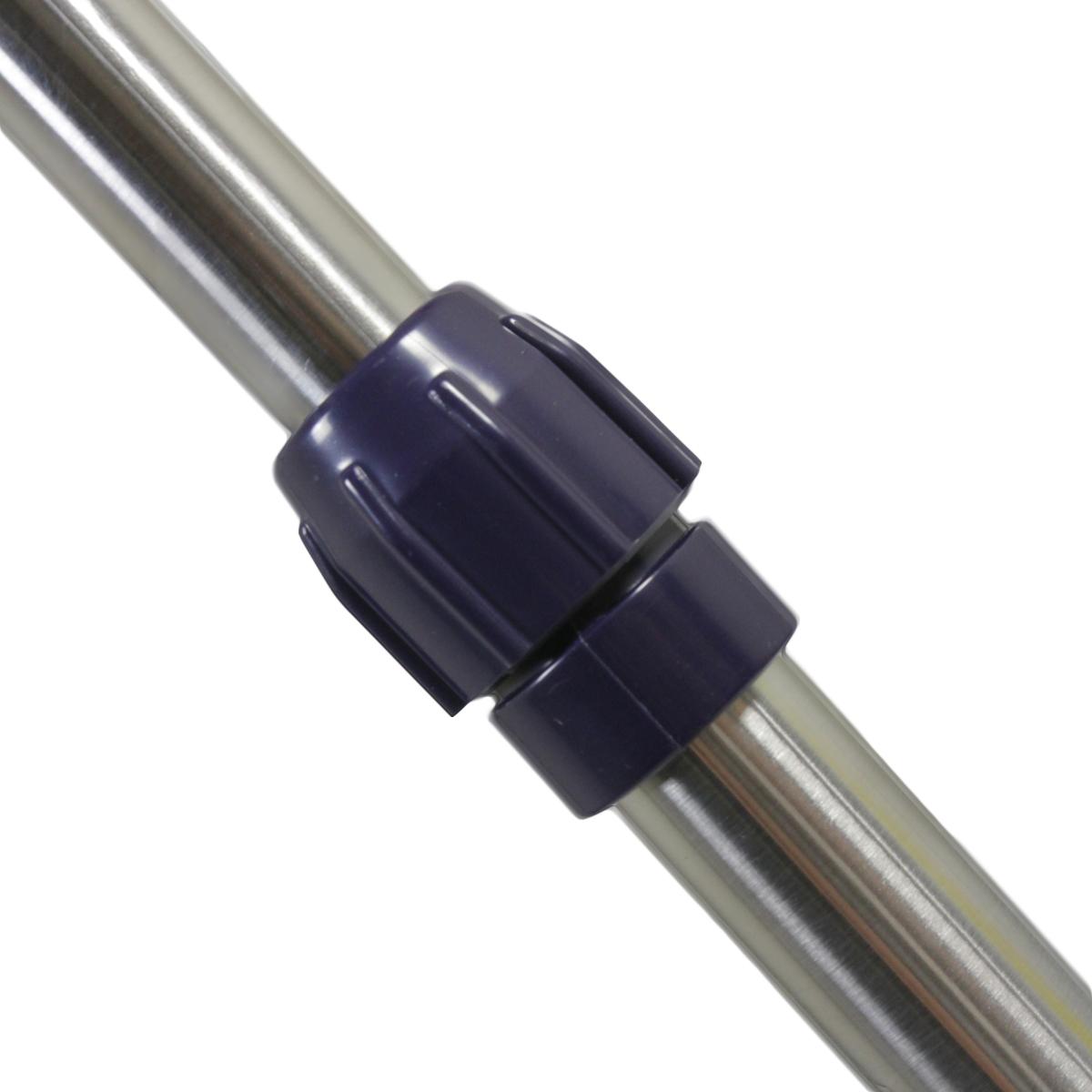 New Heavy Duty Double Rail Adjustable Telescopic Rolling