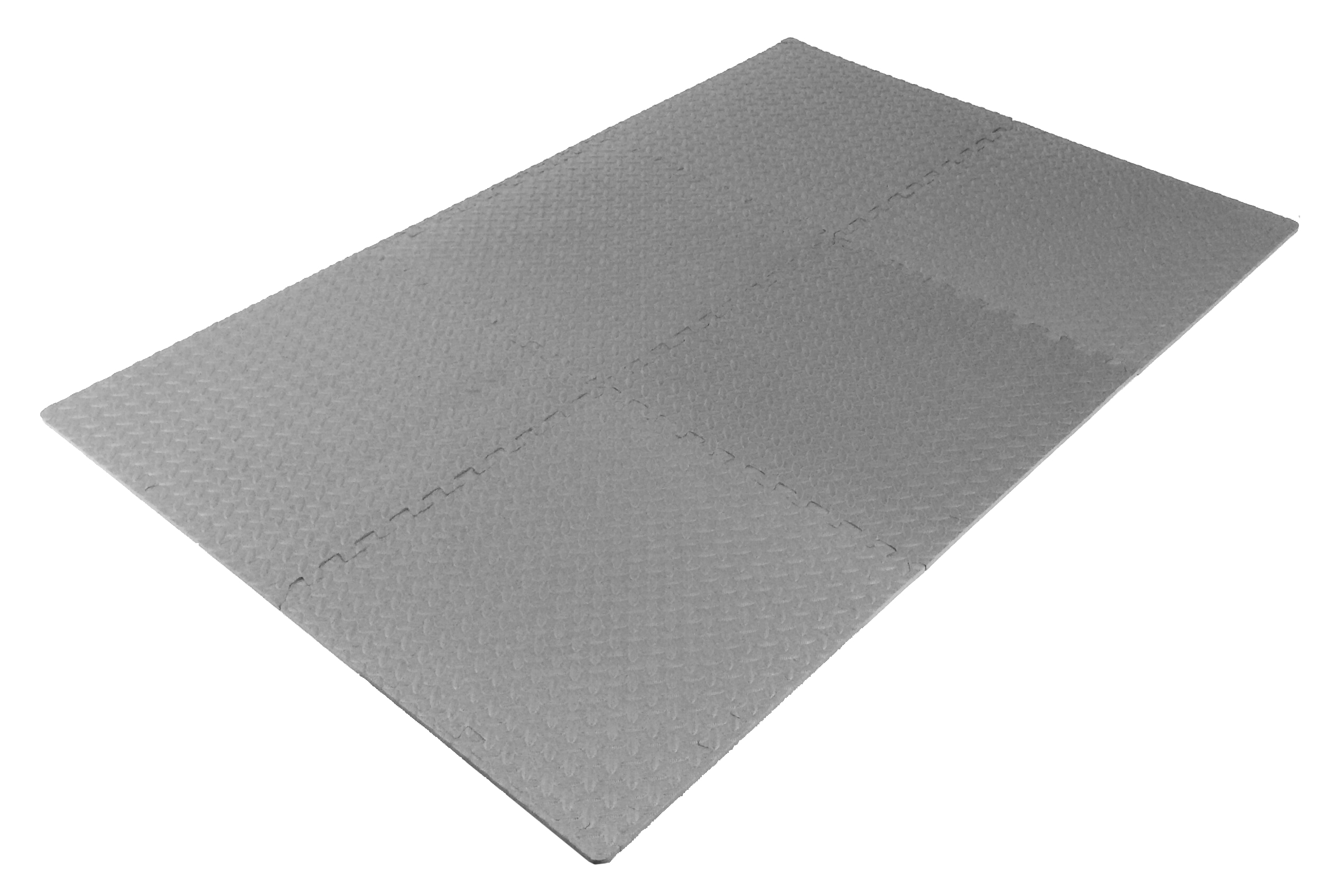 Prosource puzzle exercise floor tiles mat eva foam for Foam flooring