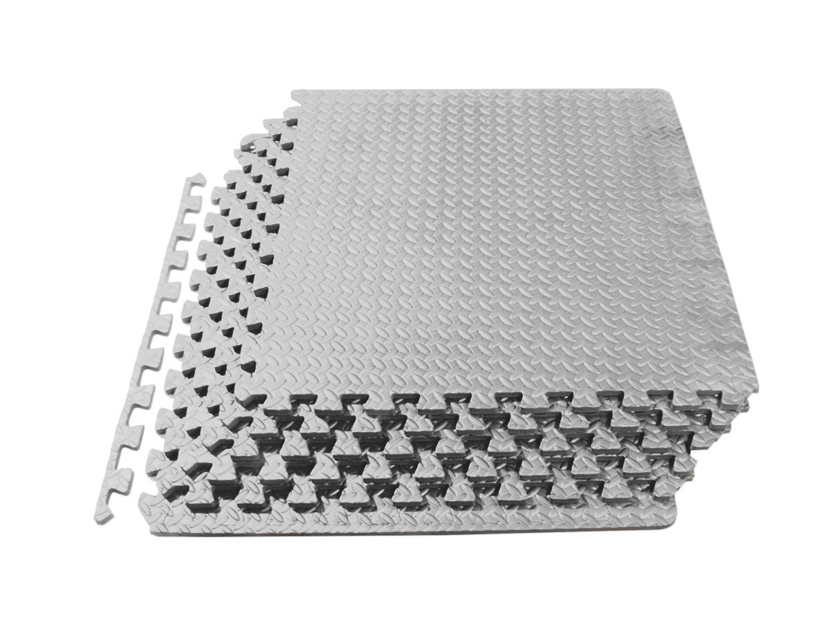 prosource puzzle exercise floor tiles mat eva foam interlocking tiles 24 sq feet ebay. Black Bedroom Furniture Sets. Home Design Ideas