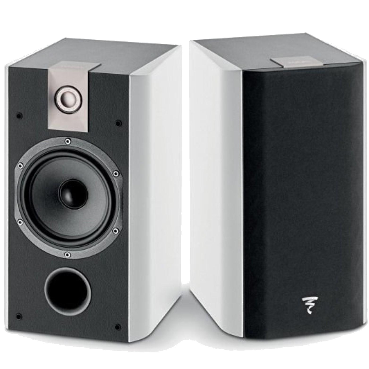 focal chorus 706 2 way bass reflex bookshelf speakers pair. Black Bedroom Furniture Sets. Home Design Ideas