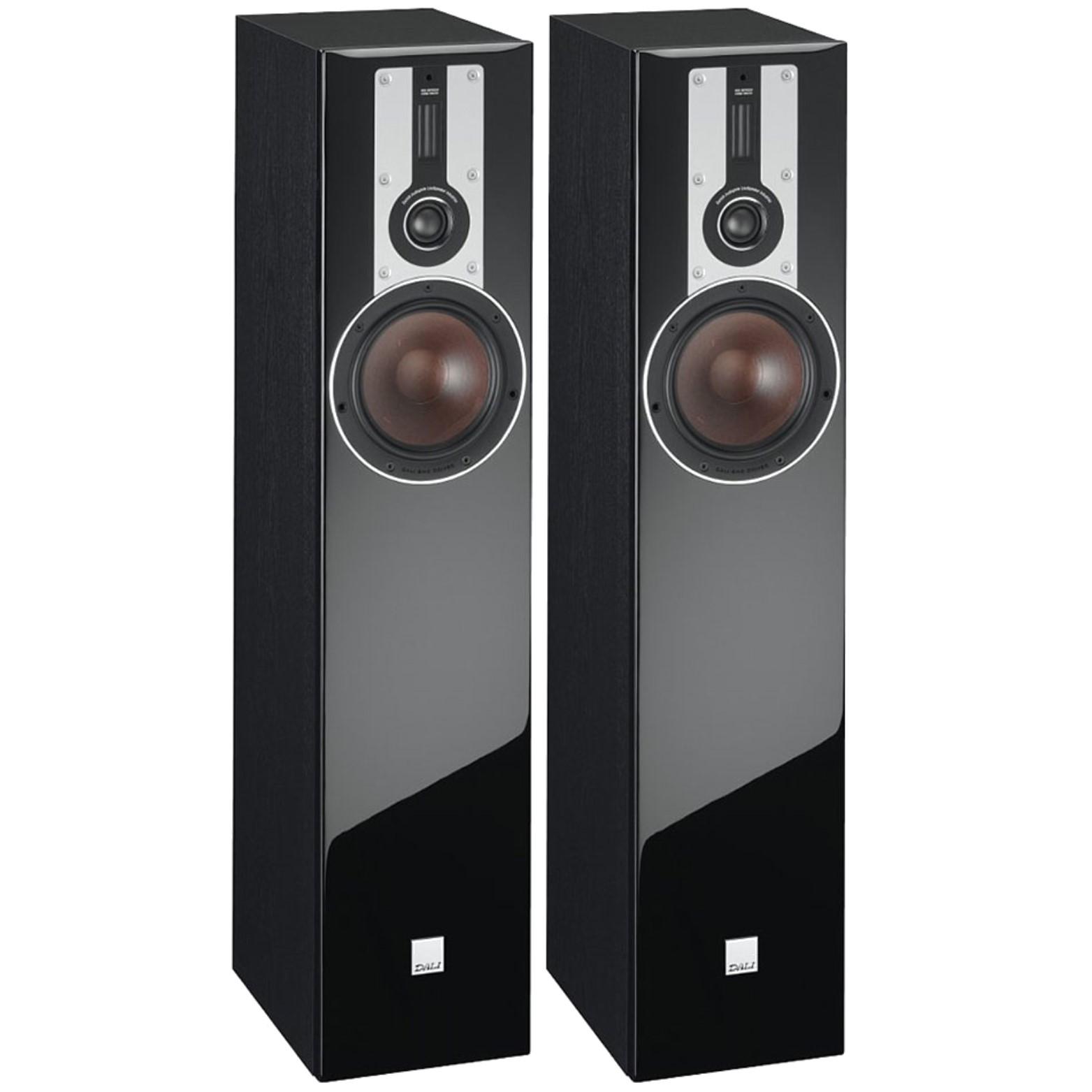 Stylish Speakers dali opticon 5 powerful stylish 2.5-way compact floorstanding