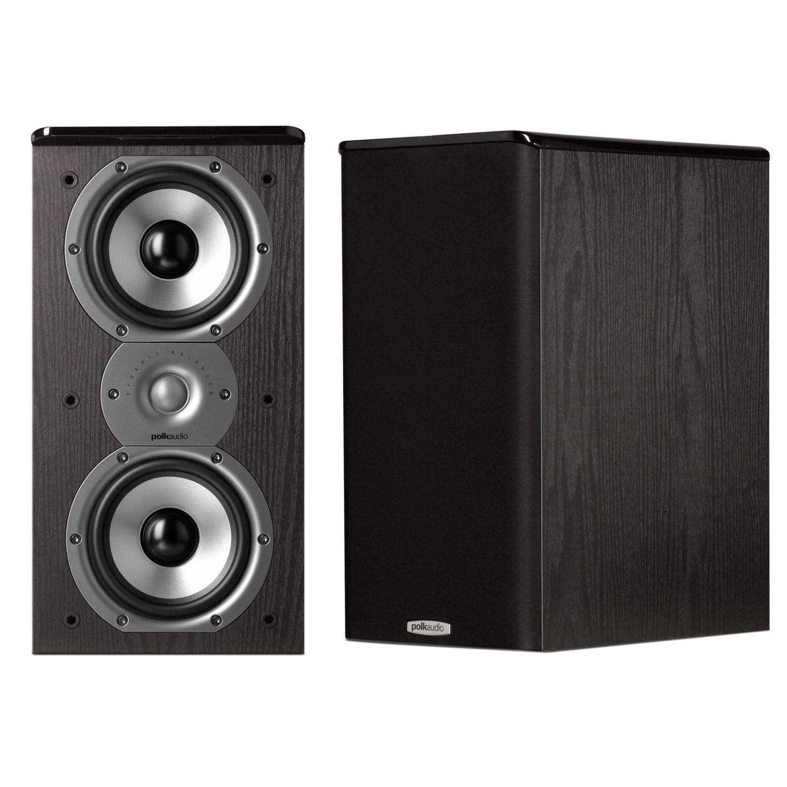Polk Audio Tsi200 Bookshelf Speakers  Pair