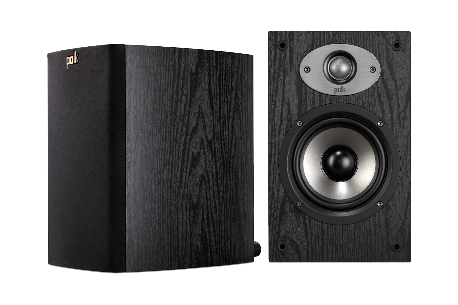 how to connect bookshelf speakers to tv
