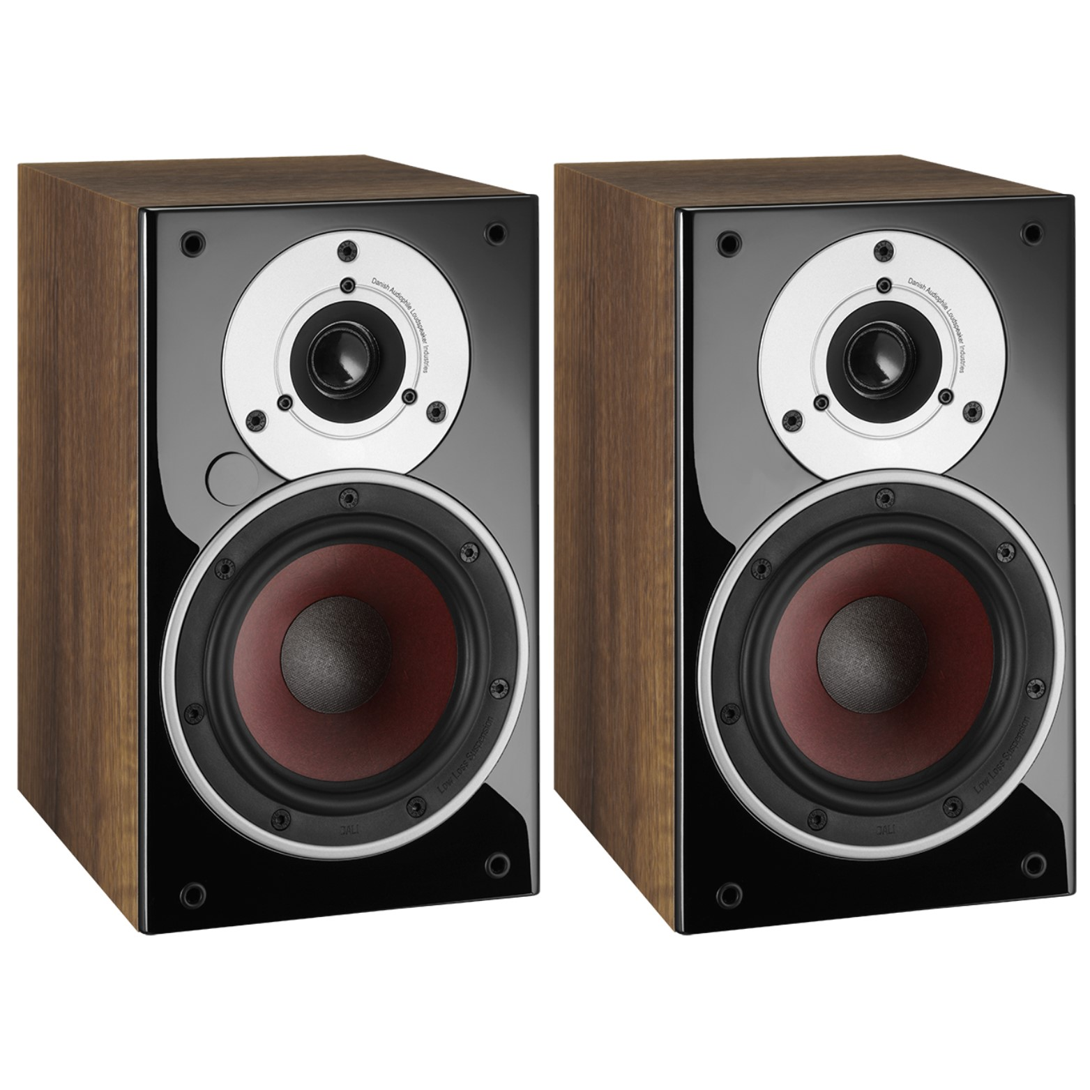 dali zensor 1 ax active pact bookshelf speakers with built in