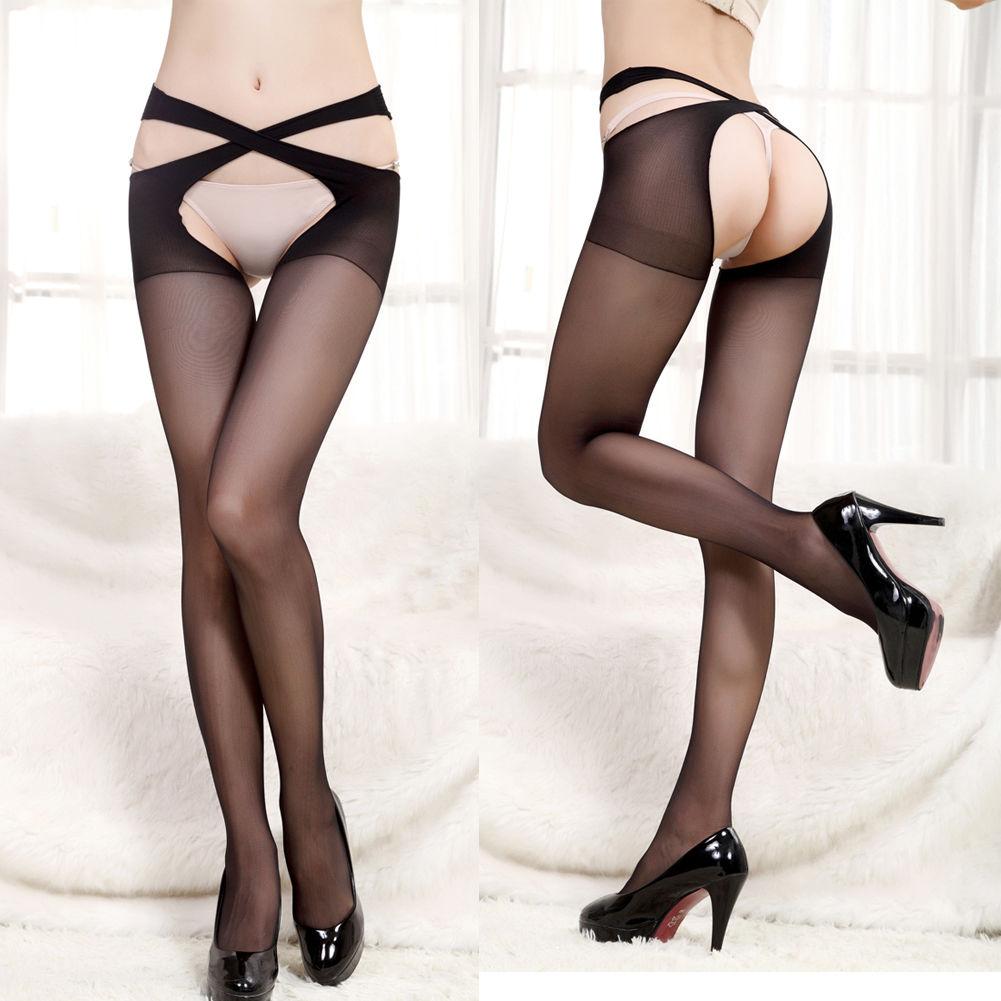 women's sexy lingerie lace stocking cross panties nightwear