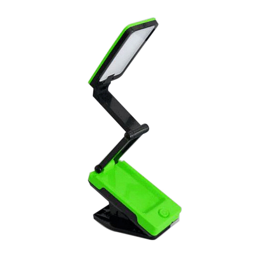 foldable clip on led light desk table lamp upscale reading. Black Bedroom Furniture Sets. Home Design Ideas