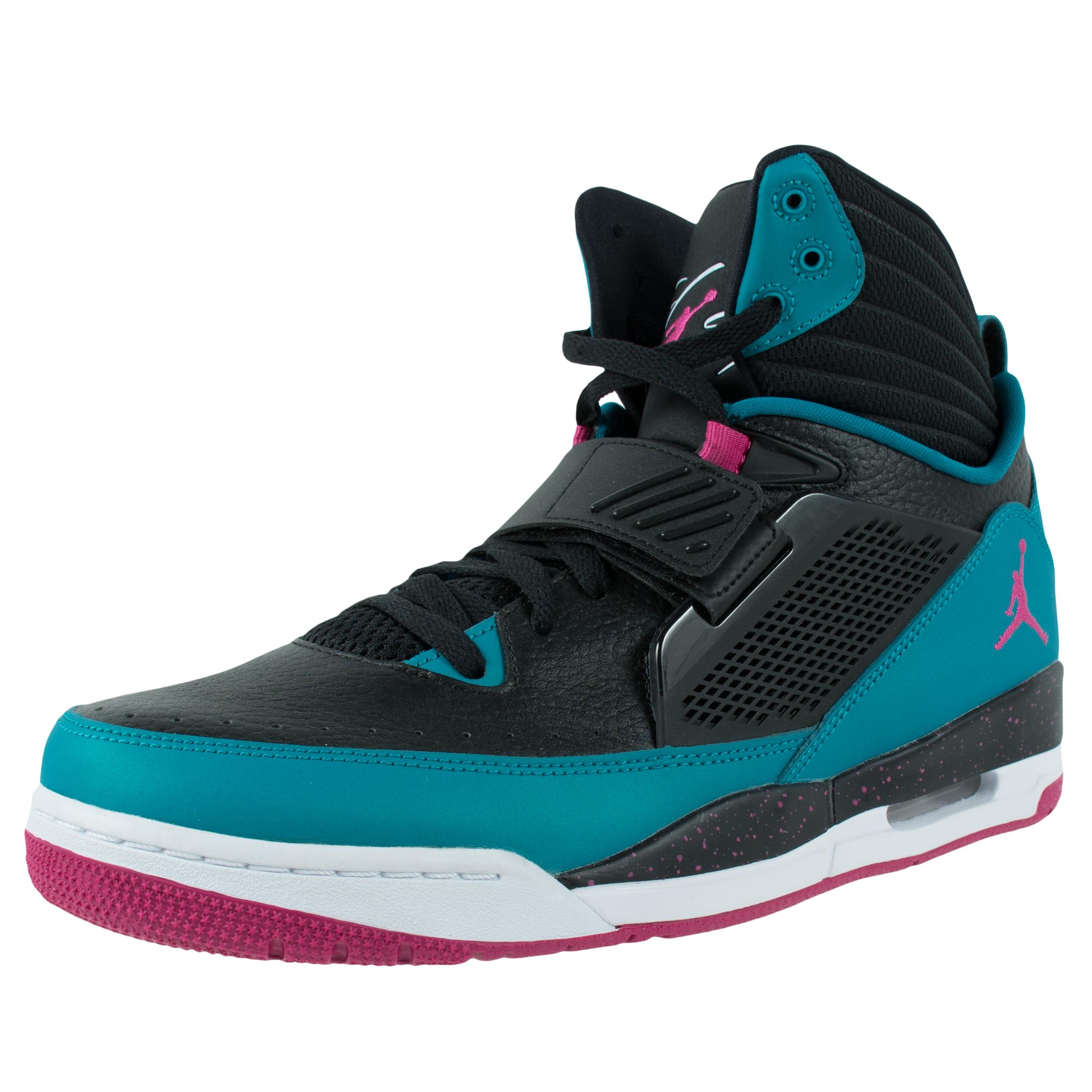 nike flight 97 basketball shoes black fusion pink