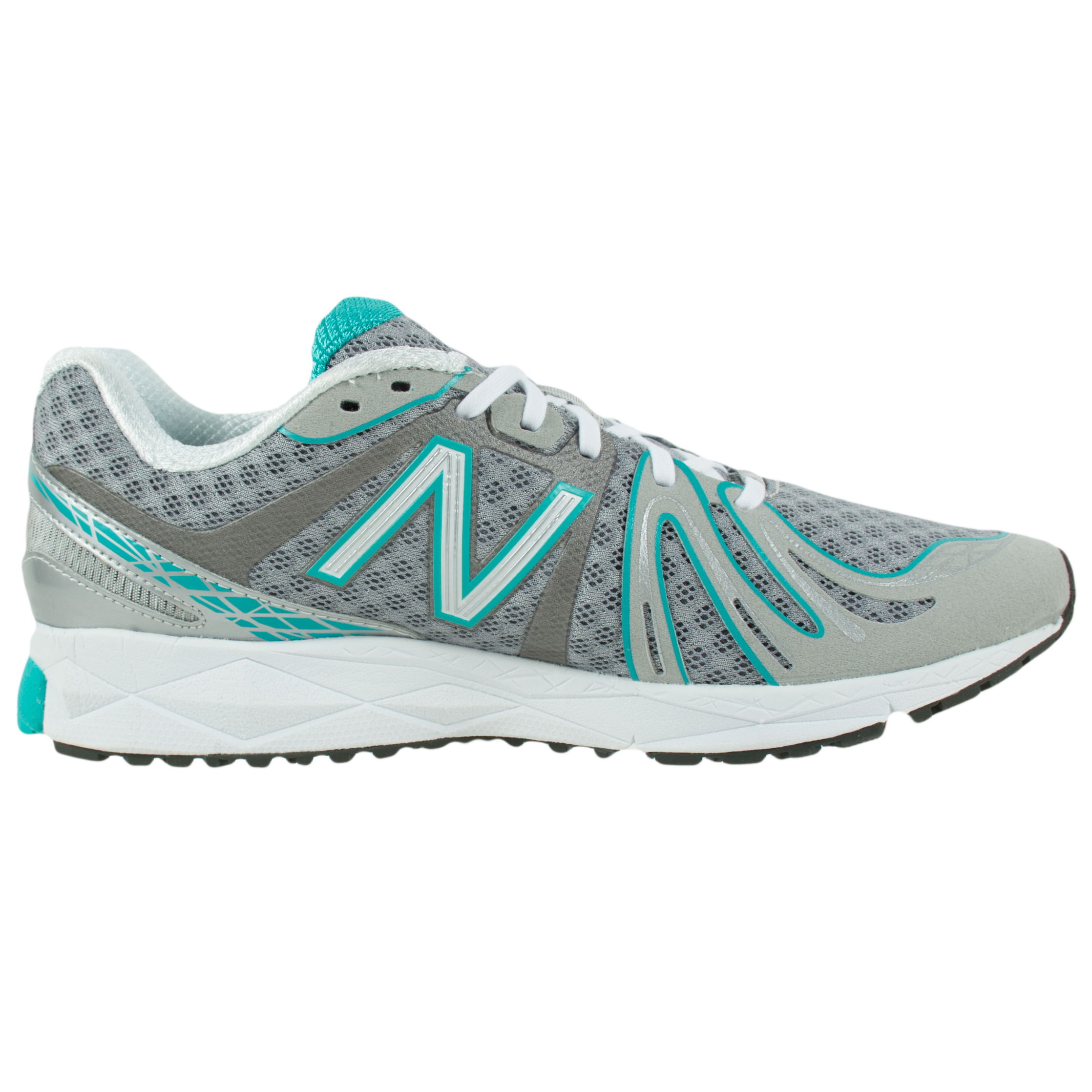 new balance women 39 s revlite 890 running sneakers silver teal w890sg2. Black Bedroom Furniture Sets. Home Design Ideas