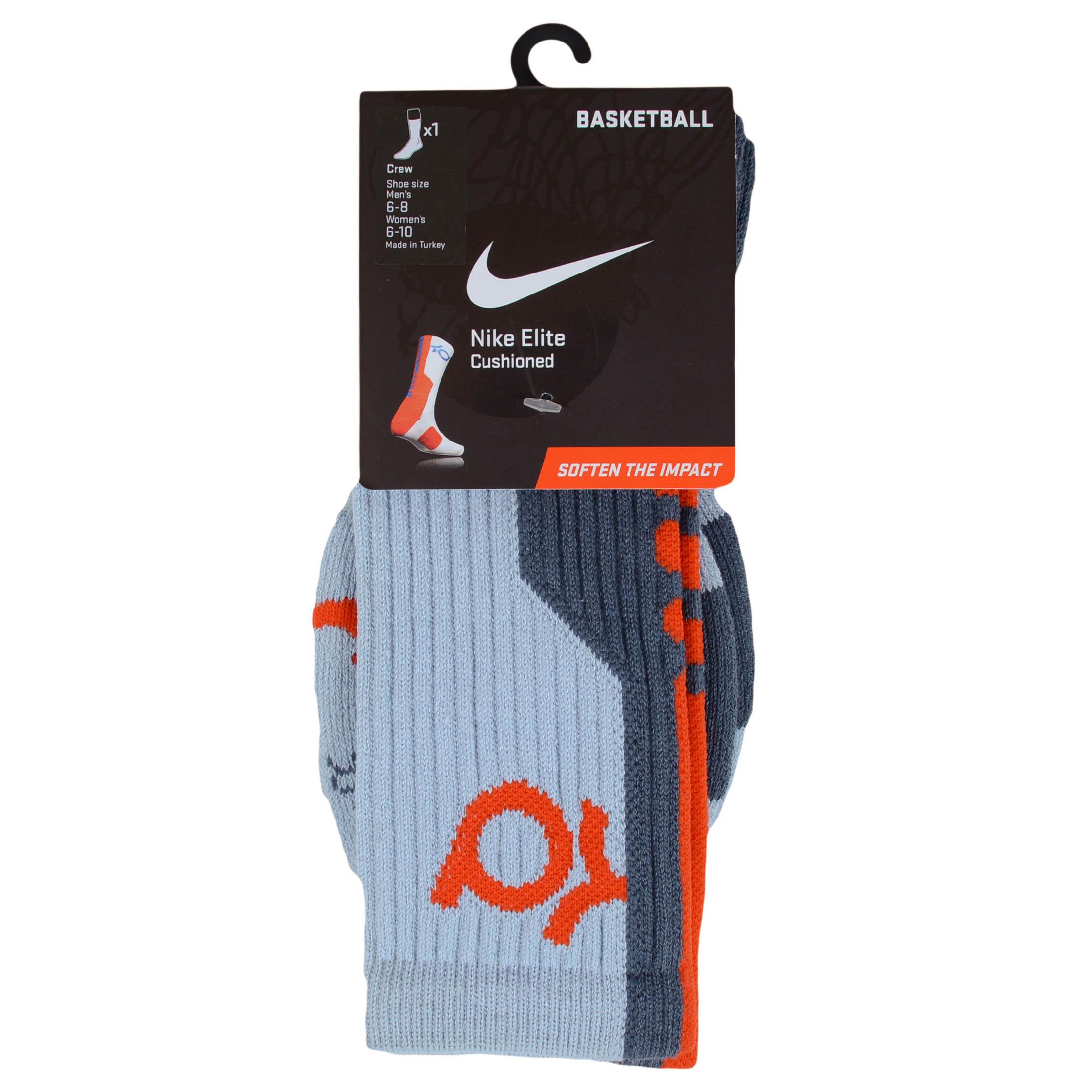nike kd elite cushioned basketball crew socks sx4736 ebay