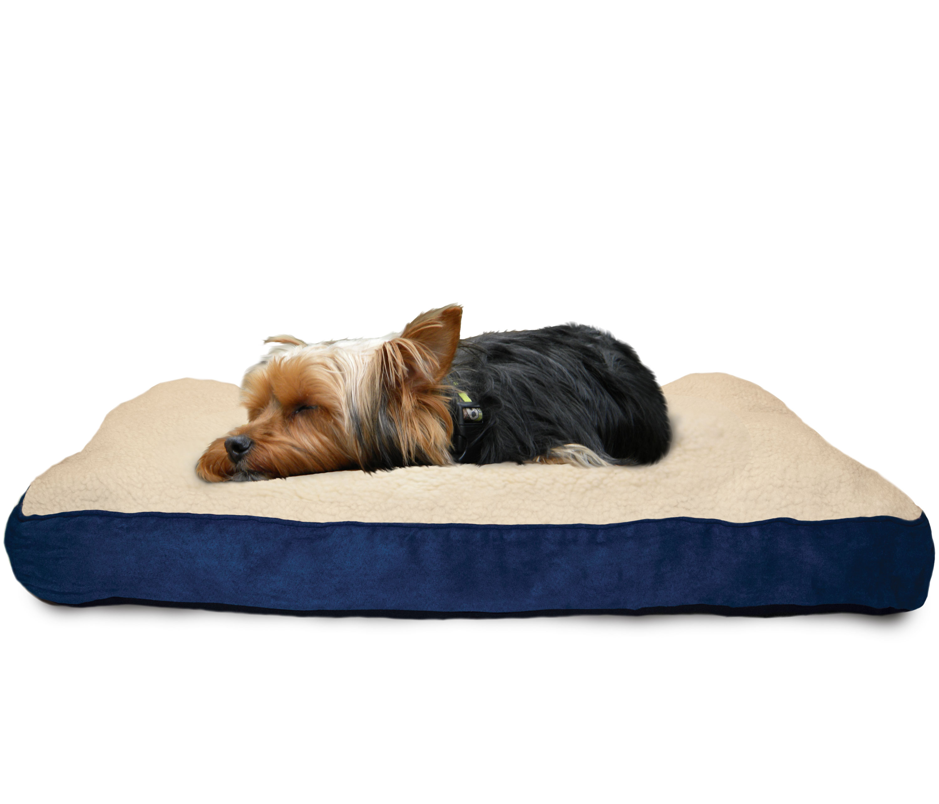 Furhaven pet nap deluxe pillow pet bed for dogs ebay for Dog haus dog beds