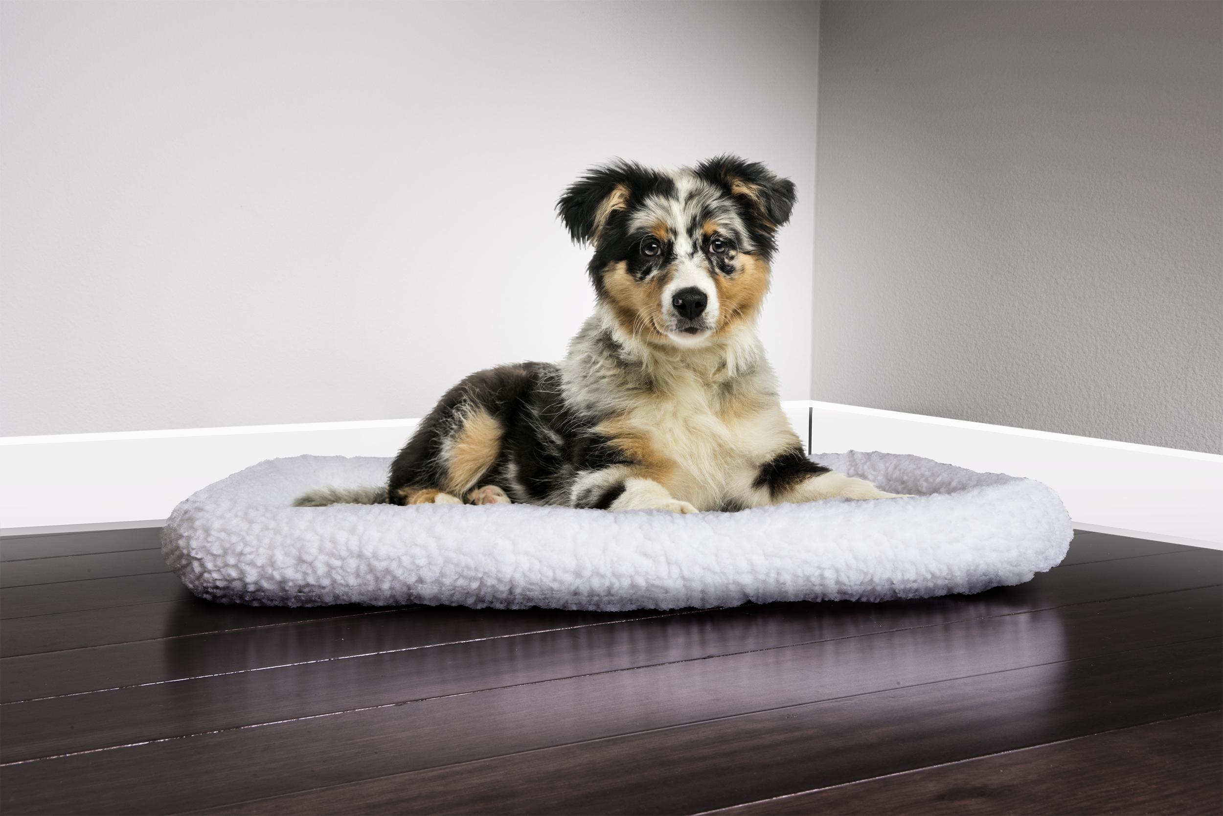 furhaven pet nap bolster crate kennel pet bed dog bed ebay. Black Bedroom Furniture Sets. Home Design Ideas