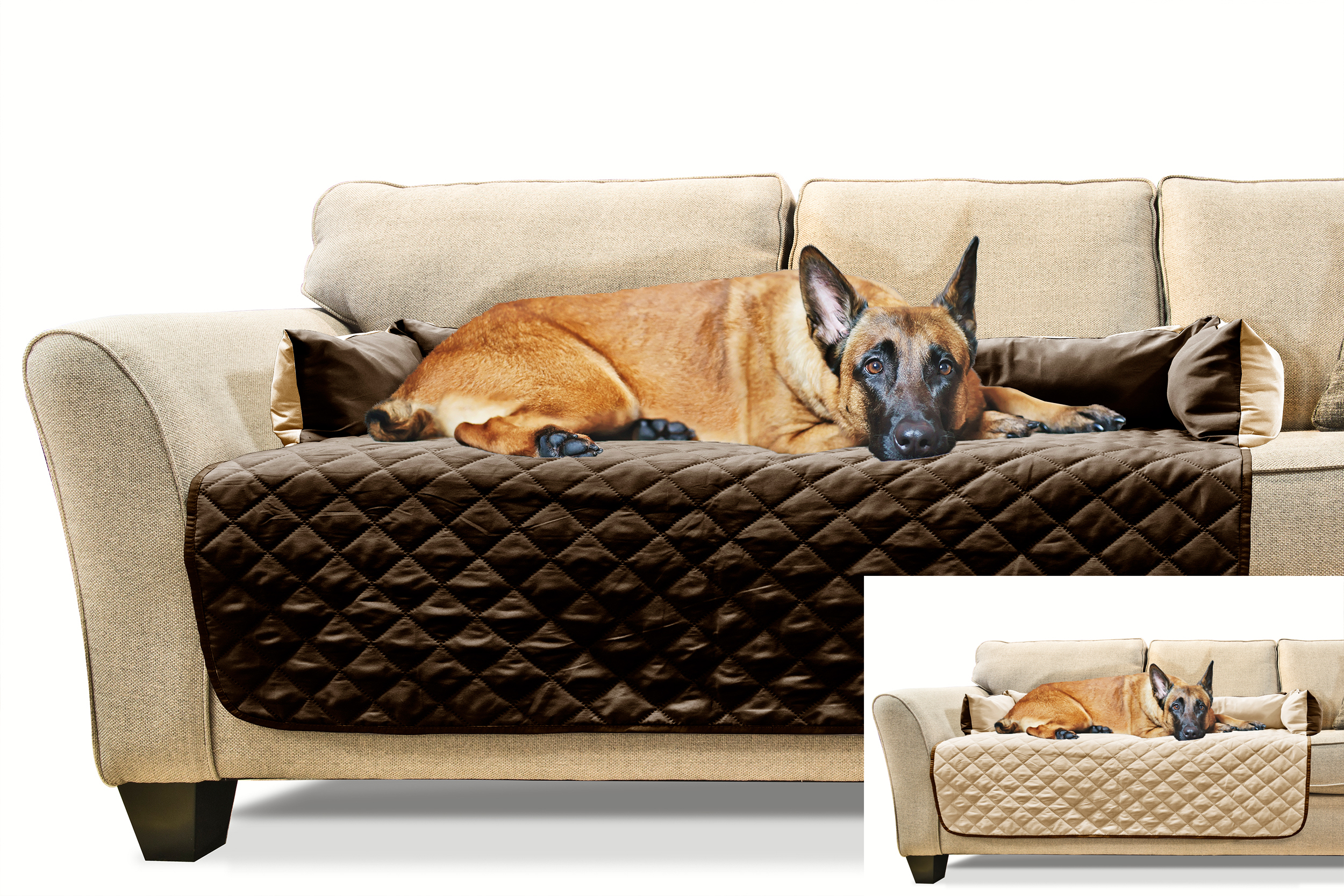 Furhaven Sofa Buddy Pet Bed Furniture Cover Ebay