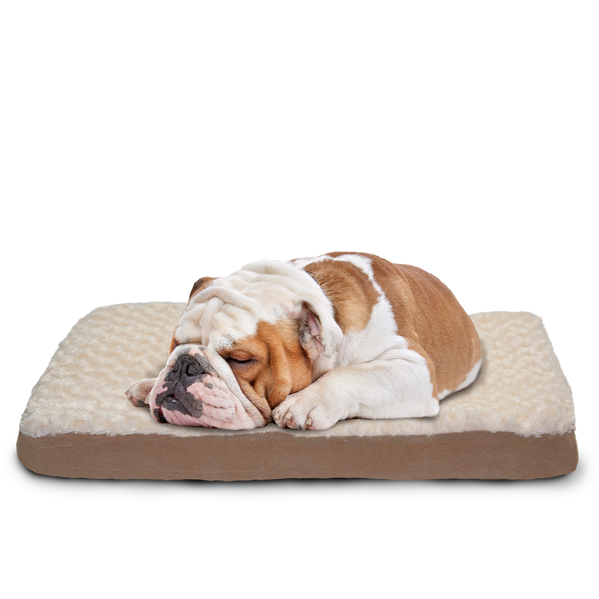 large dog bed plush pet mattress washable puppy cushion. Black Bedroom Furniture Sets. Home Design Ideas